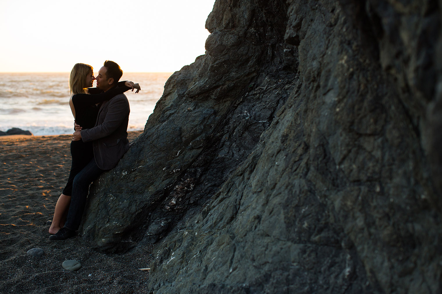 sonoma coast state park engagement session by Dustin Cantrell