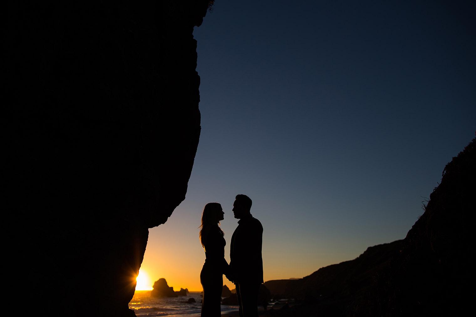 sonoma coast state park sunset photos