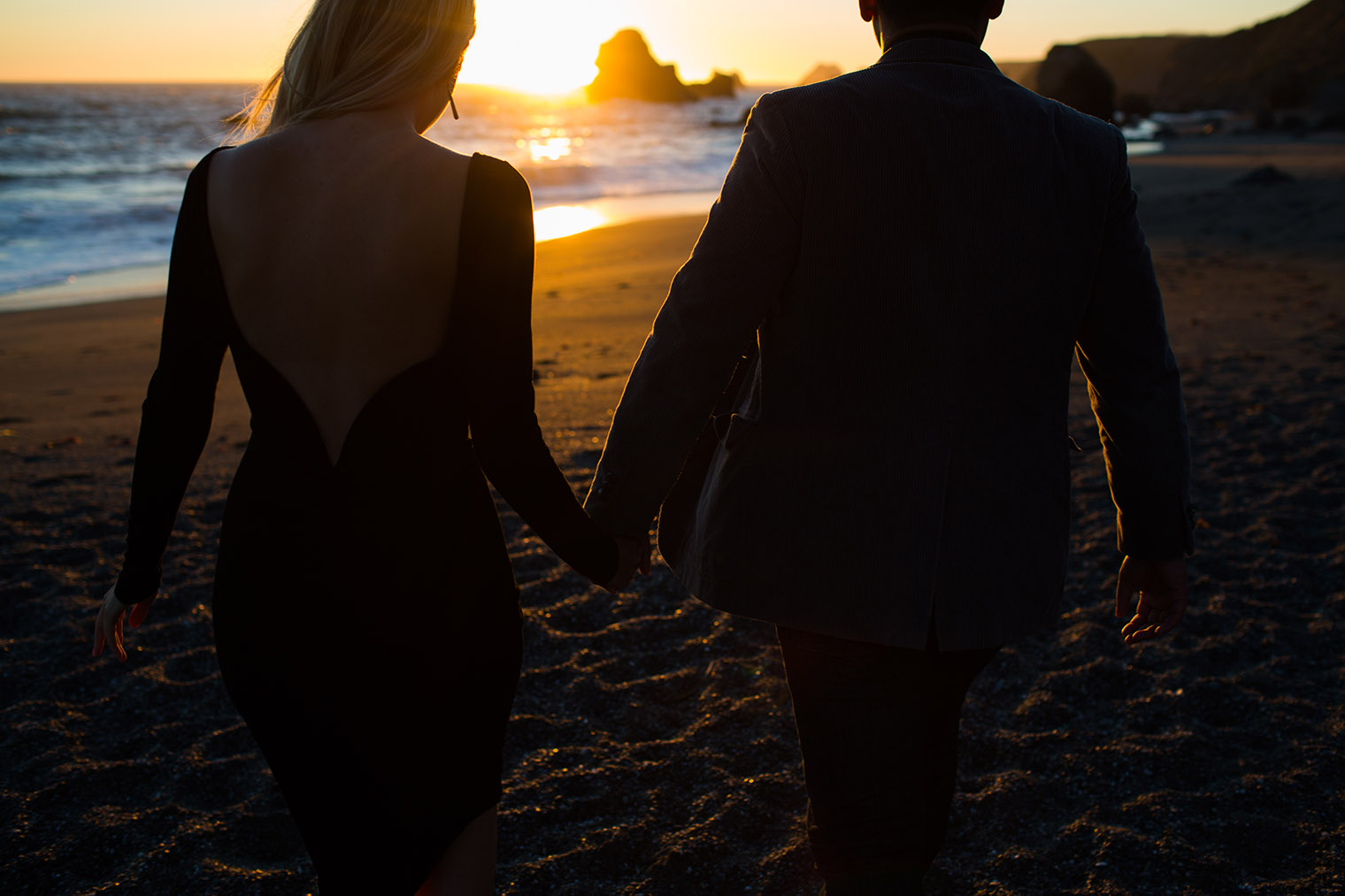 sonoma coast state park couple photos