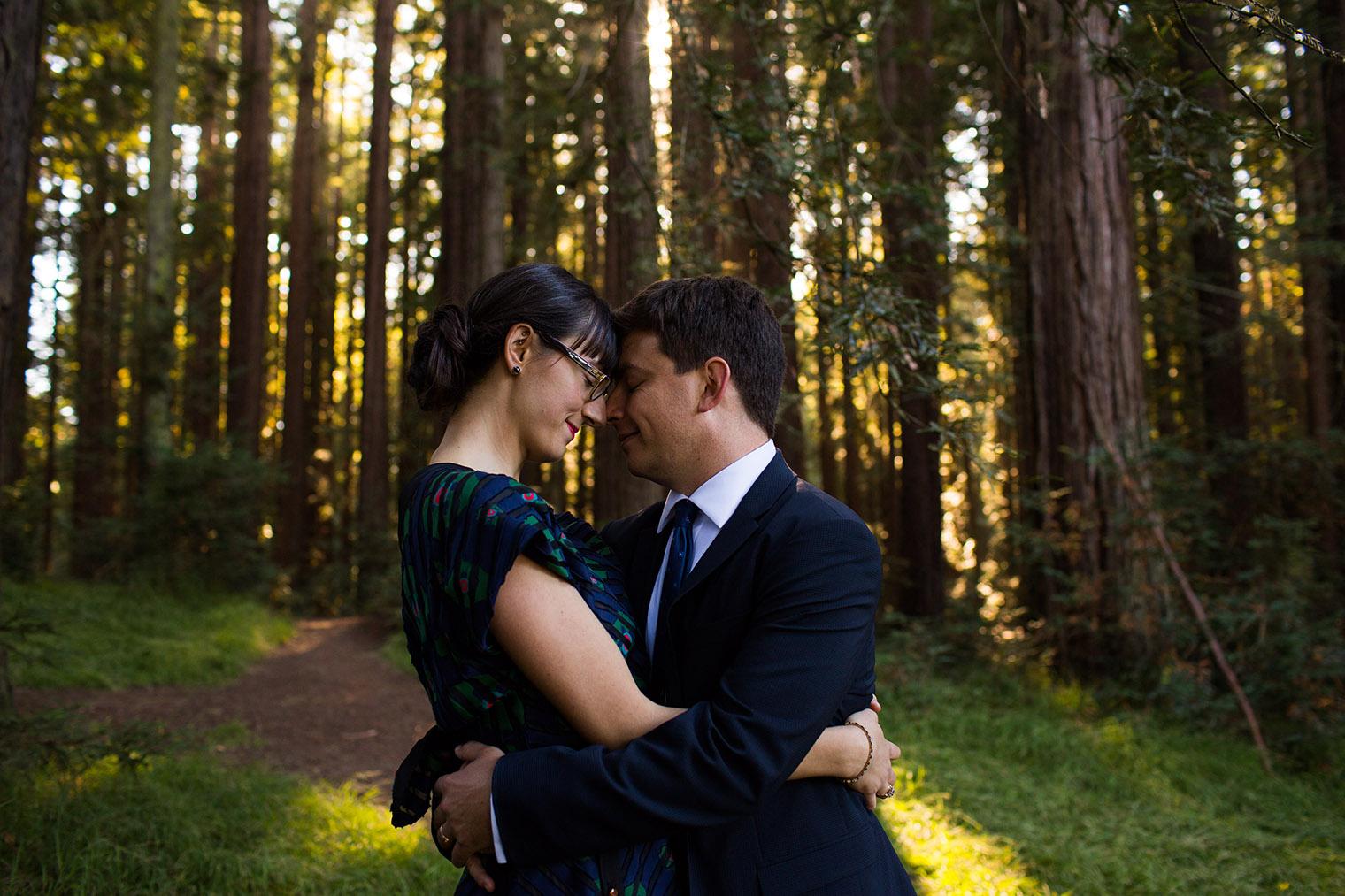 Intimate Roberts Grove Redwood Wedding