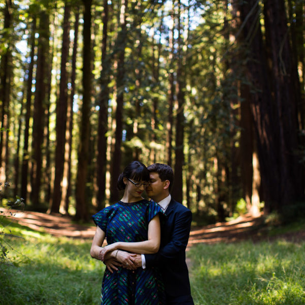 Intimate Roberts Grove Redwood Wedding