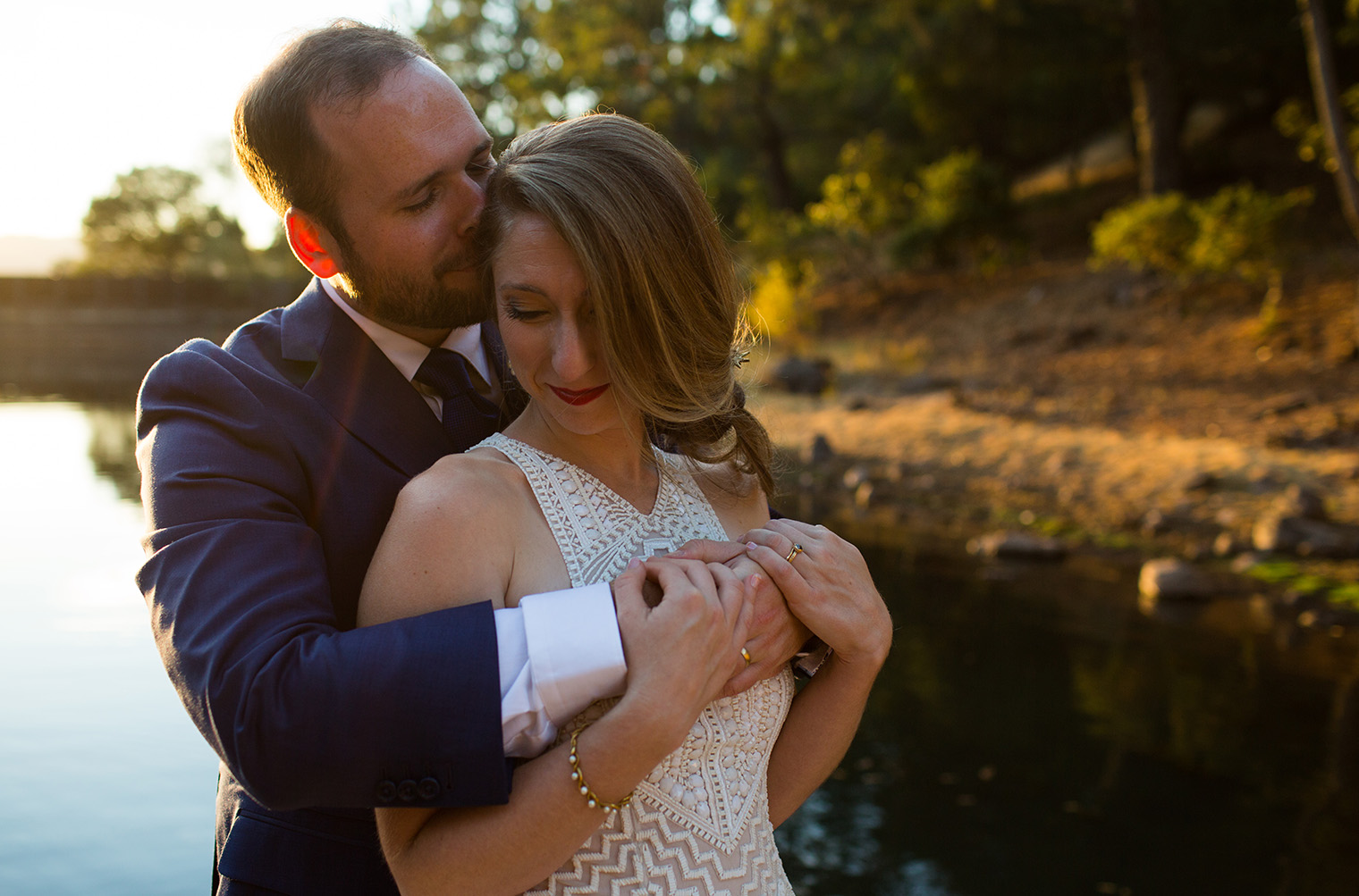 Backyard Sonoma Wedding Photographer