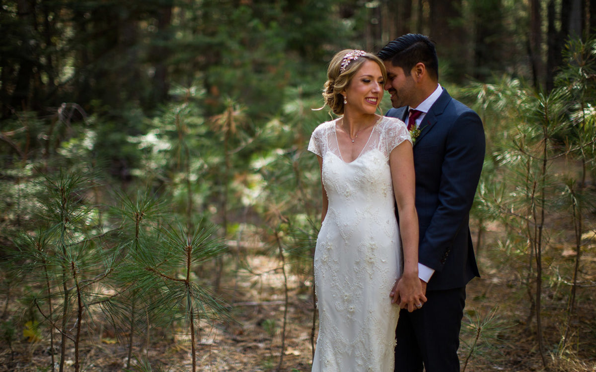 Evergreen Lodge Wedding in Yosemite National Park