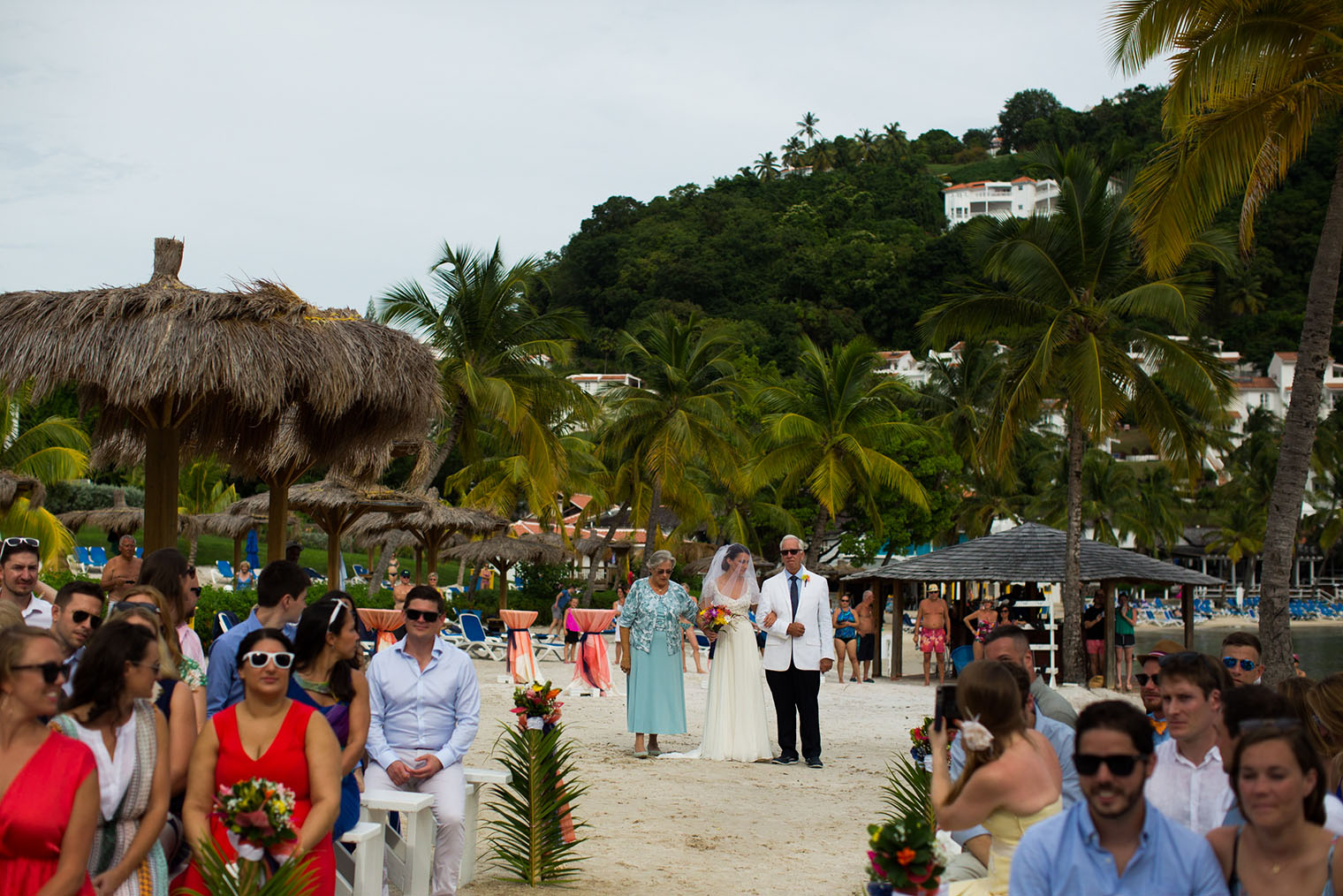 St. Lucia Windjammer Landing Wedding