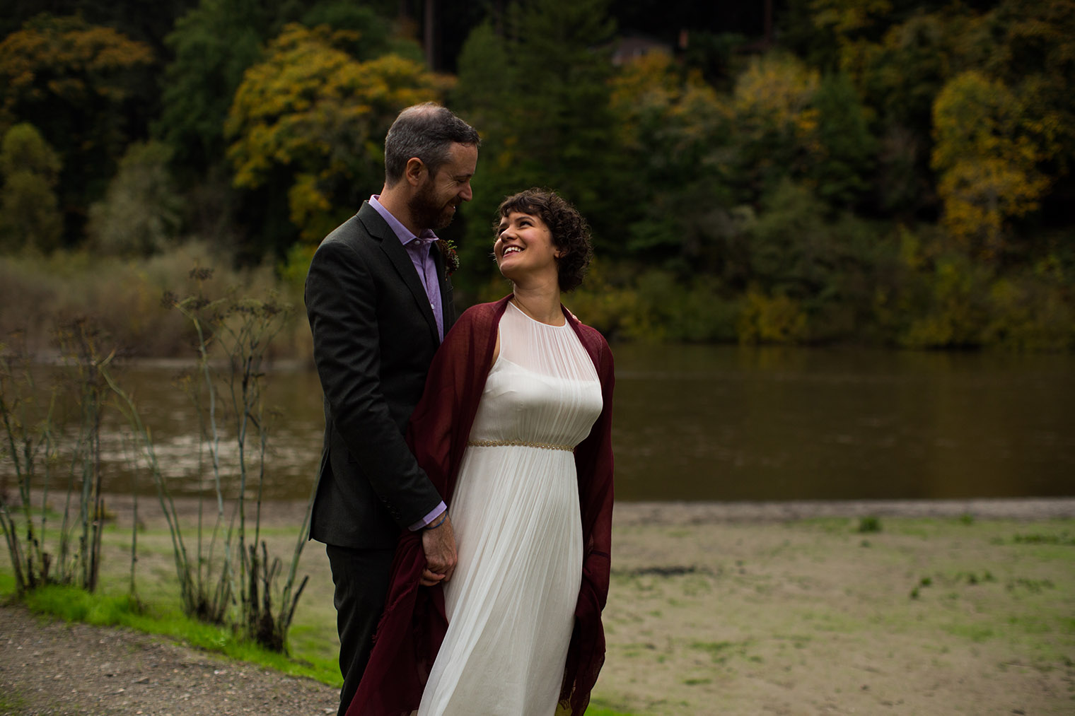 Dawn Ranch Lodge Wedding in Guerneville, California