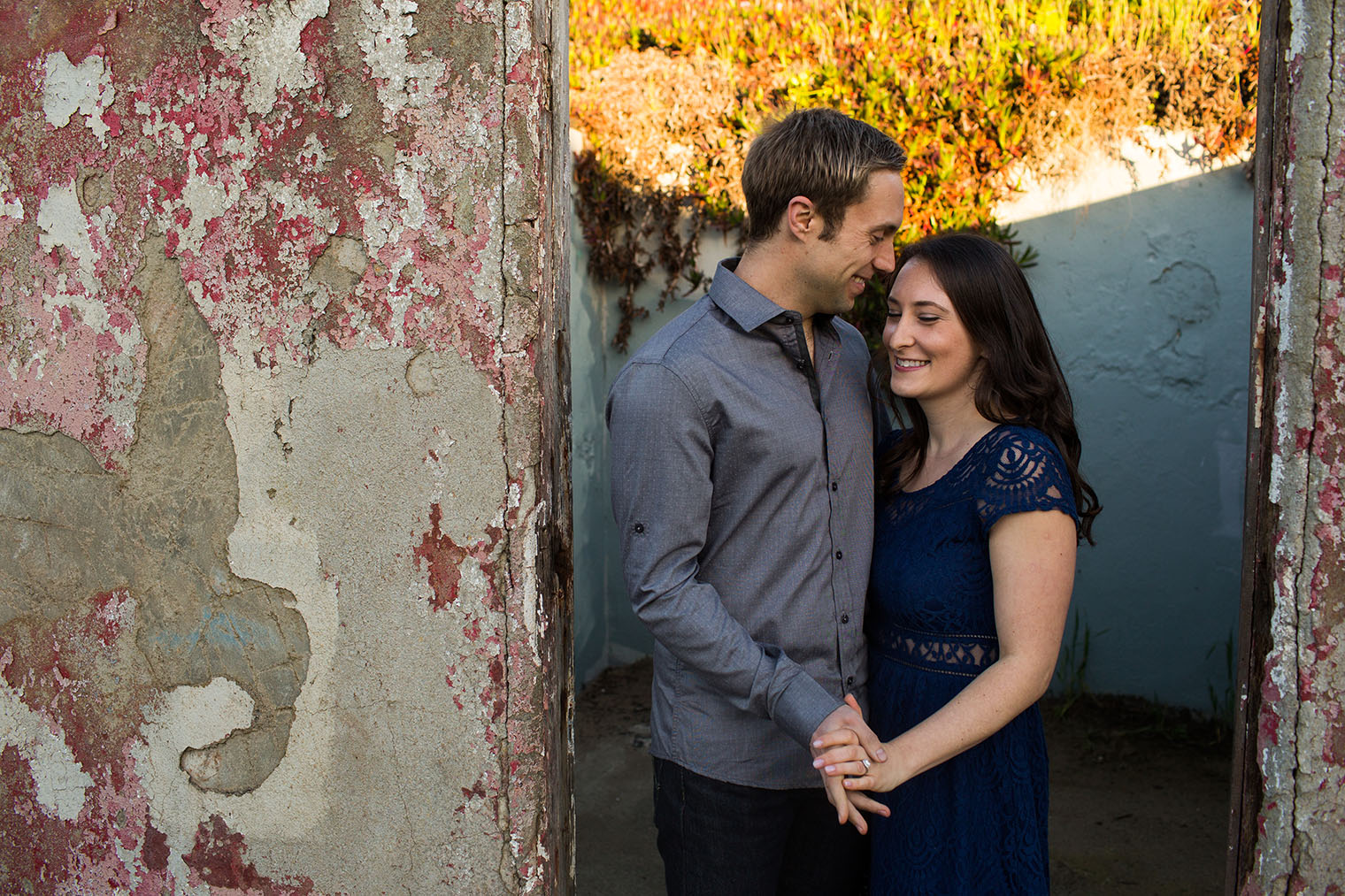 sf engagement photos