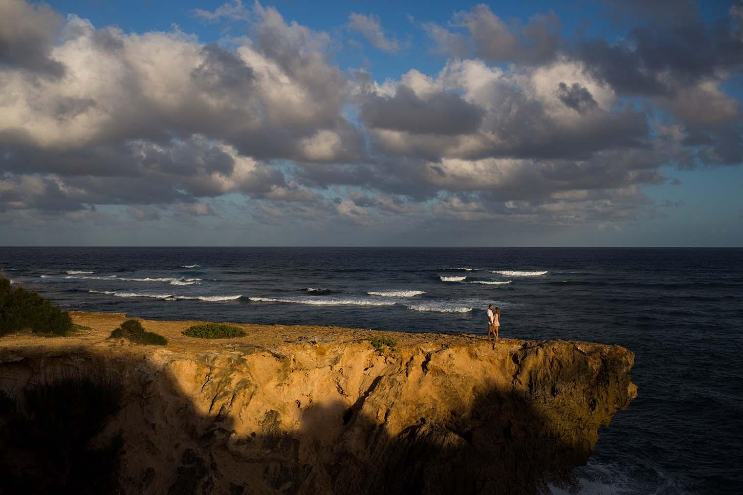 Maha'ulepu Trail Engagement Photos