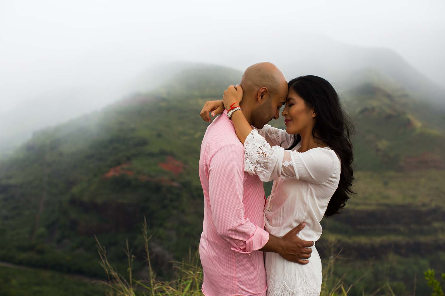 Waimea Canyon Kauai Hawaii Engagement Photos