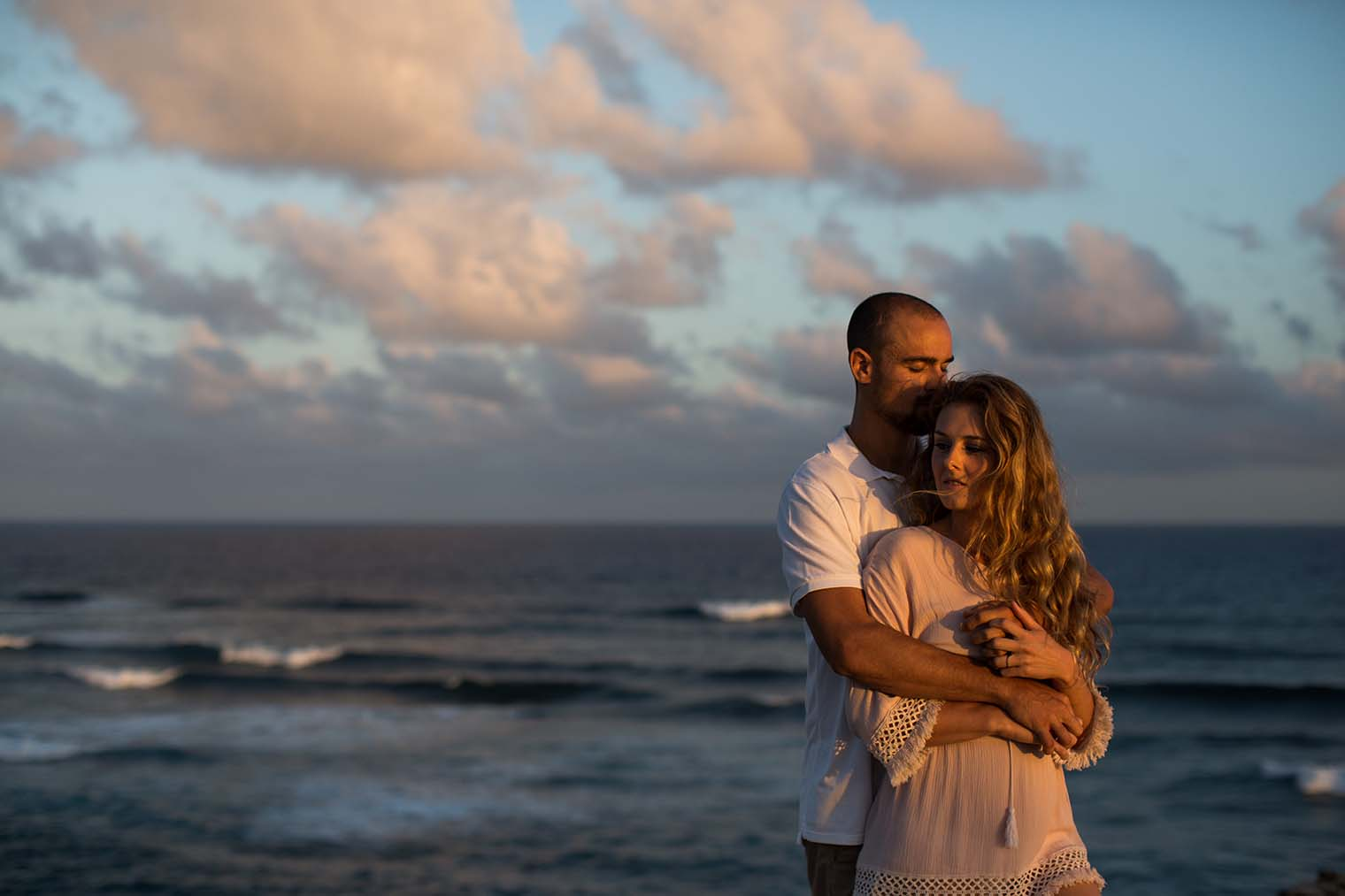 Engagement Photos by Hawaii Wedding Photographer