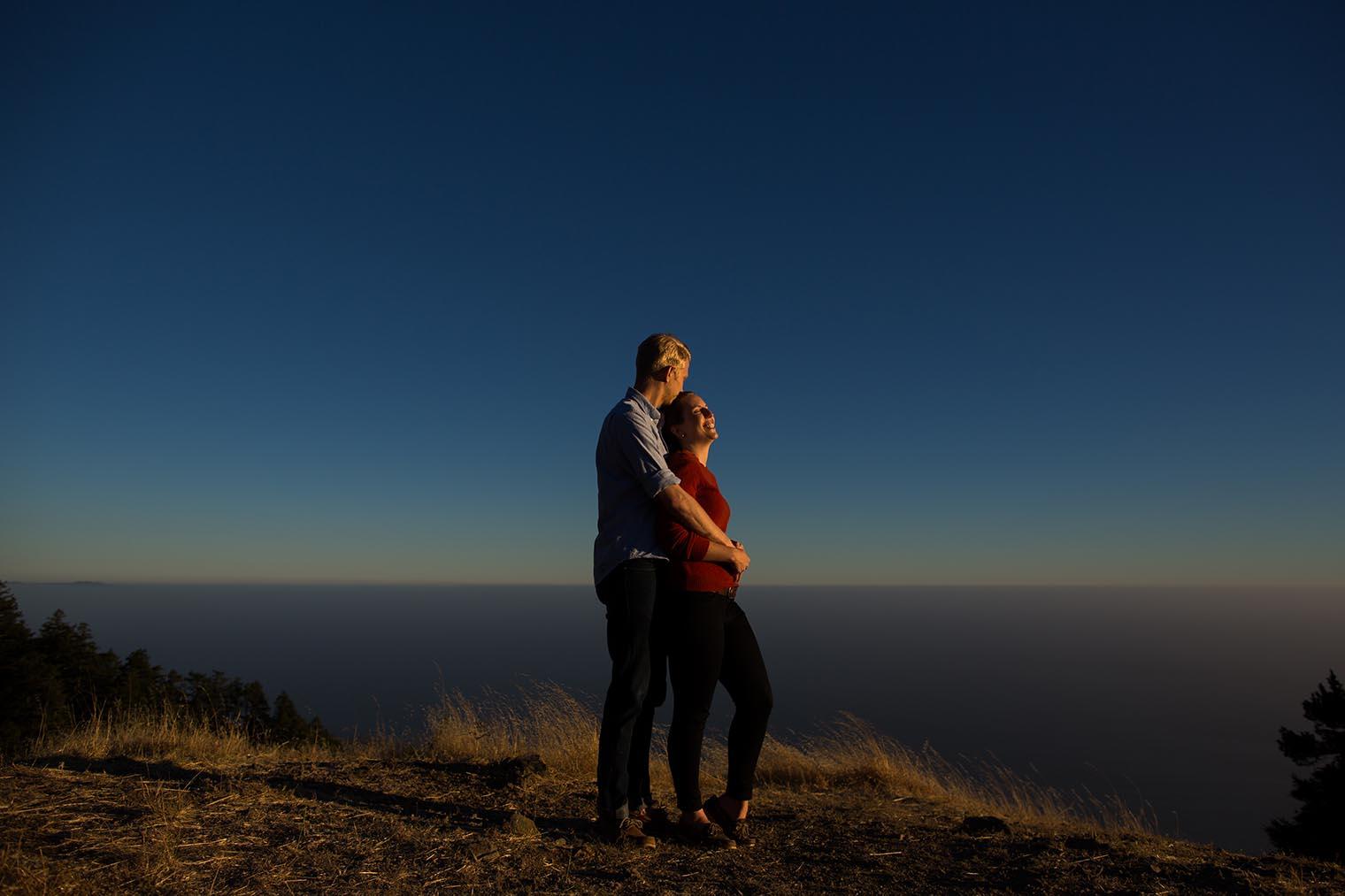 Mount Tamalpais State Park Engagement Photography
