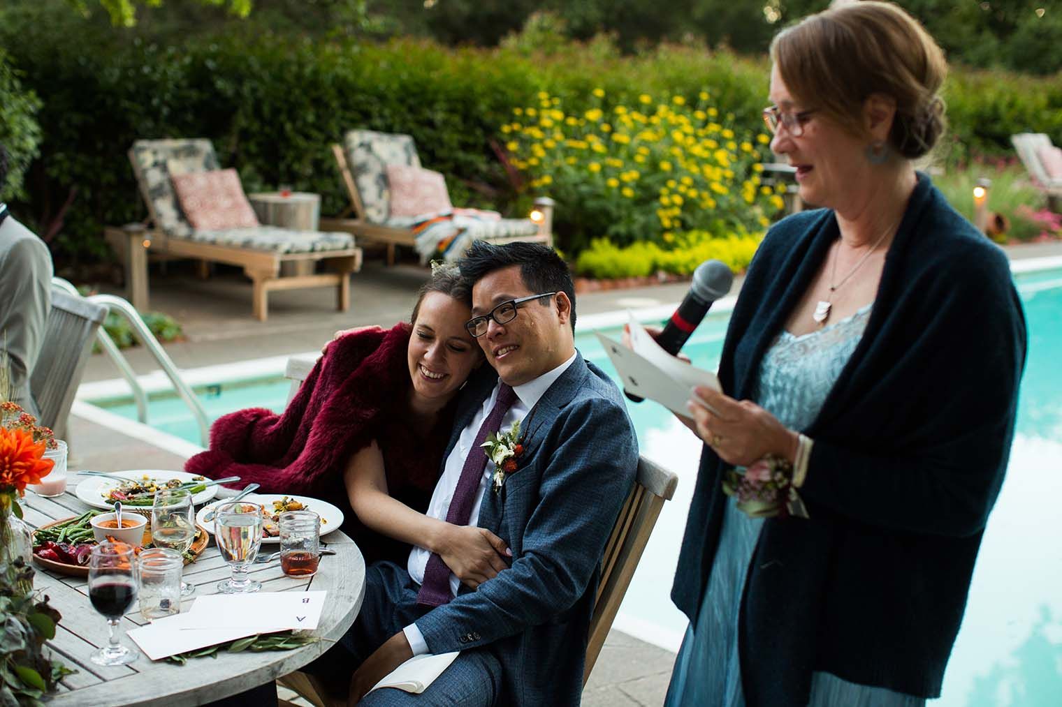 Wedding Reception at Westerbeke Ranch in Sonoma
