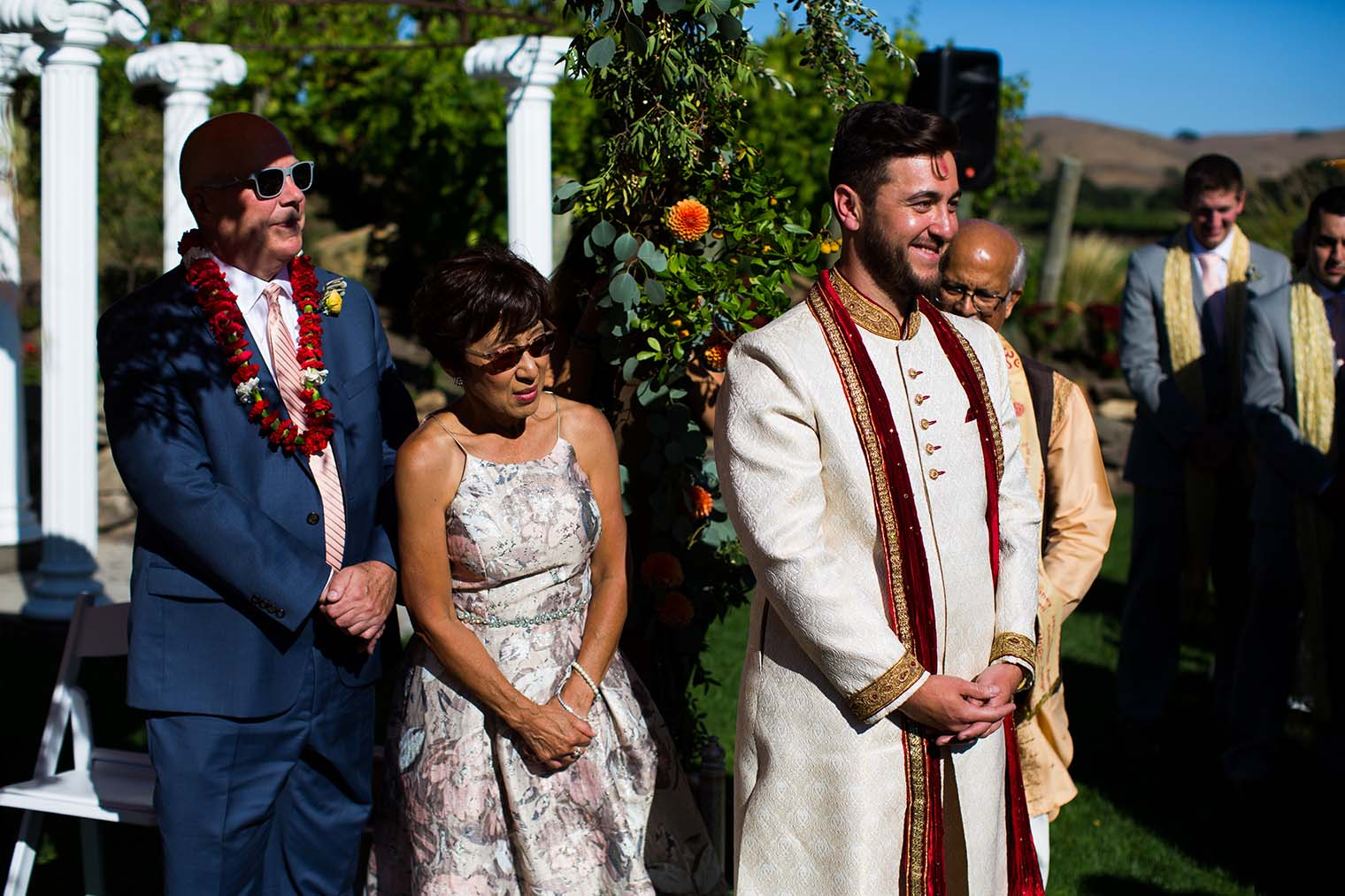 Groom's Reaction at Chardonnay Golf Club and Vineyards