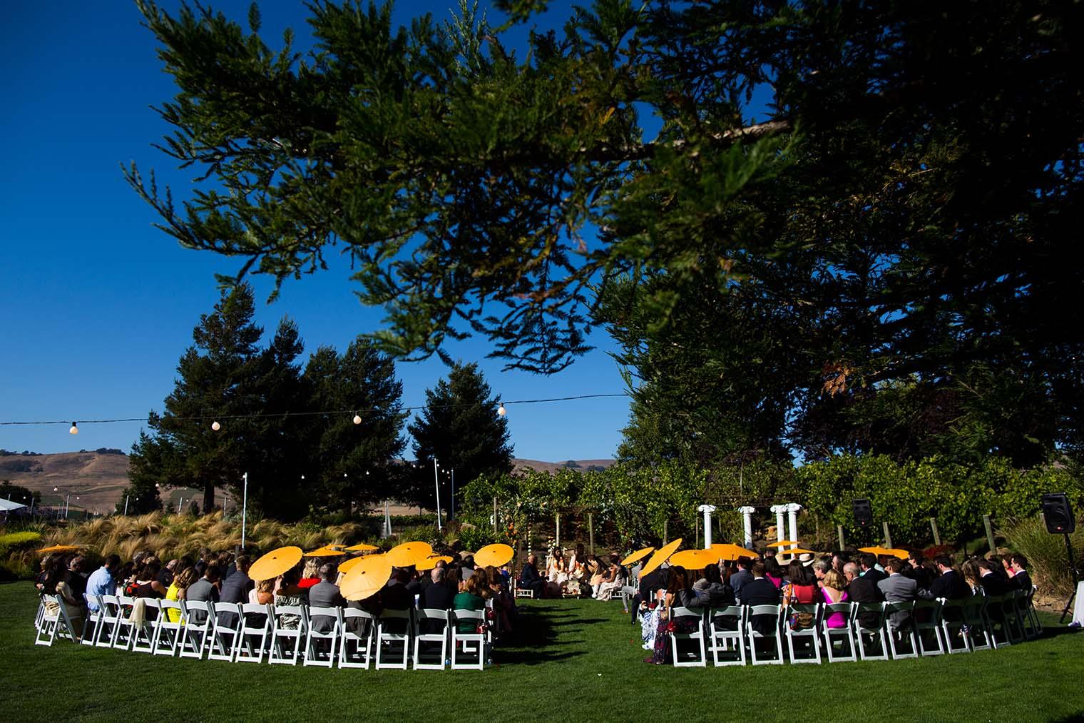 Outdoor Wedding at Chardonnay Golf Club and Vineyards
