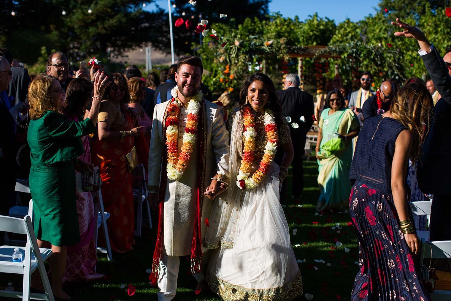 Wedding Ceremony at Chardonnay Golf Club and Vineyards