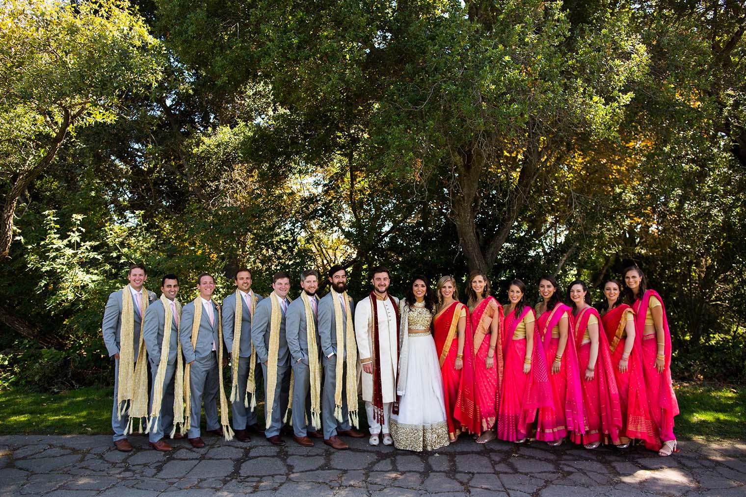 Bridal Party at Chardonnay Golf Club and Vineyards