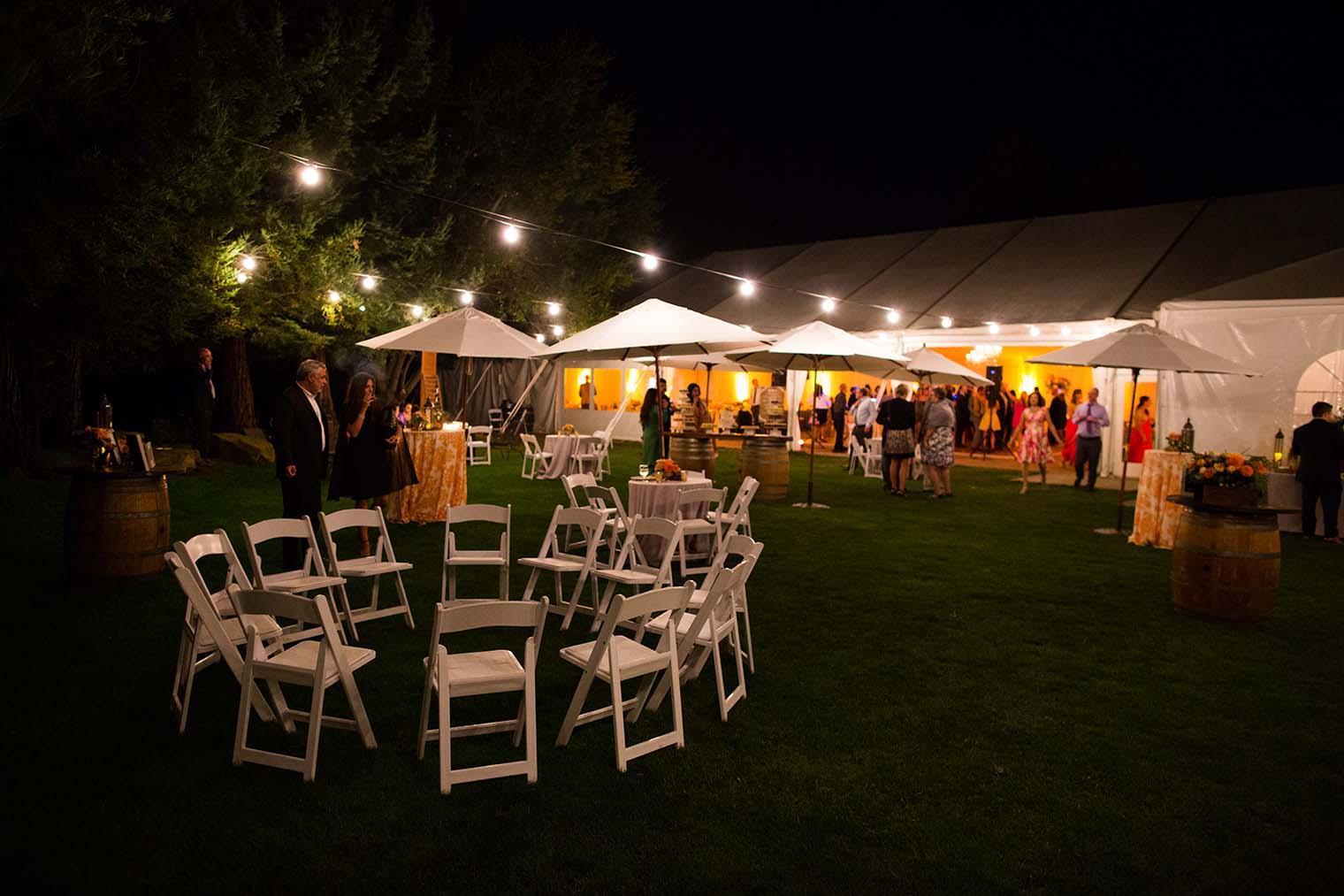 Night Shot at Chardonnay Golf Club and Vineyards