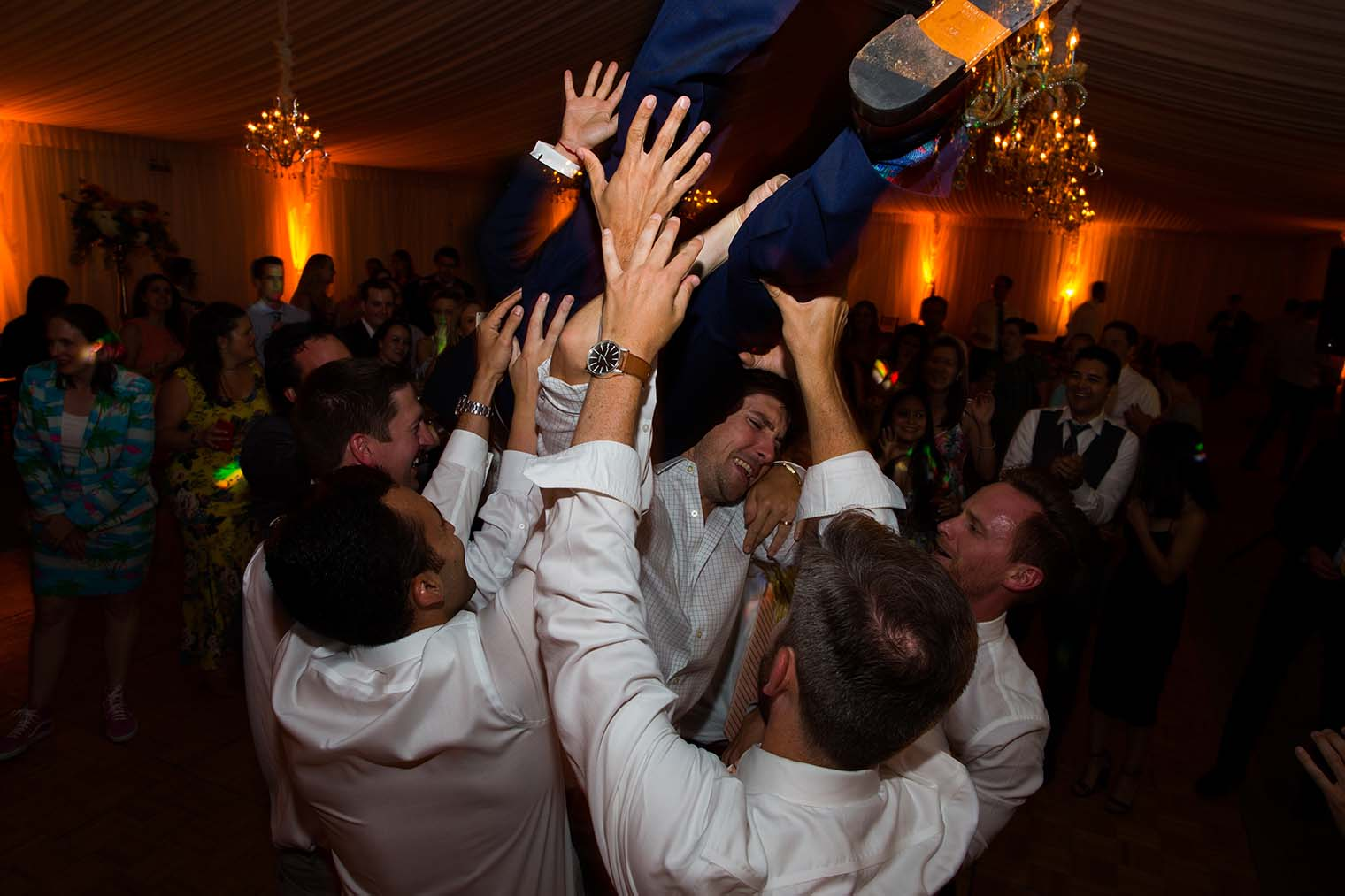 Wedding Dance Floor at Chardonnay Golf Club and Vineyards
