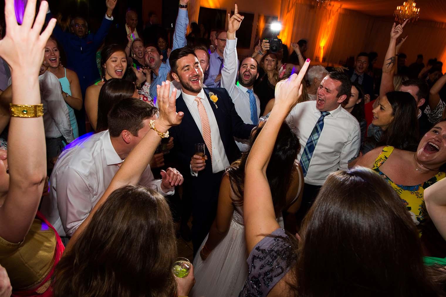 Wedding Reception at Chardonnay Golf Club and Vineyards