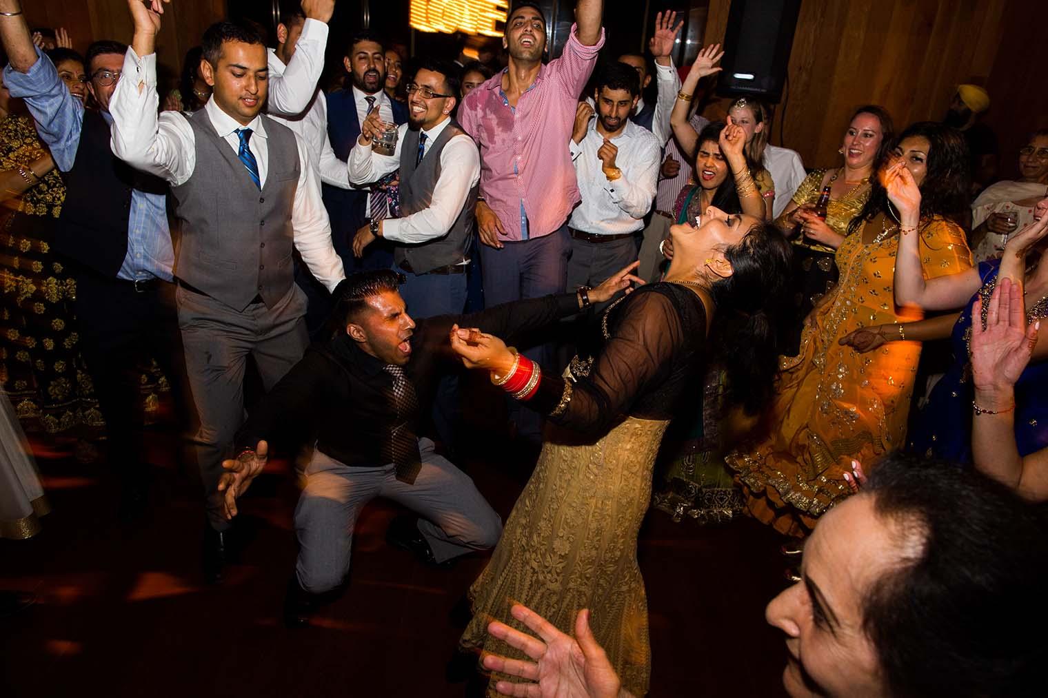 Wedding Reception by San Mateo Wedding Photographer