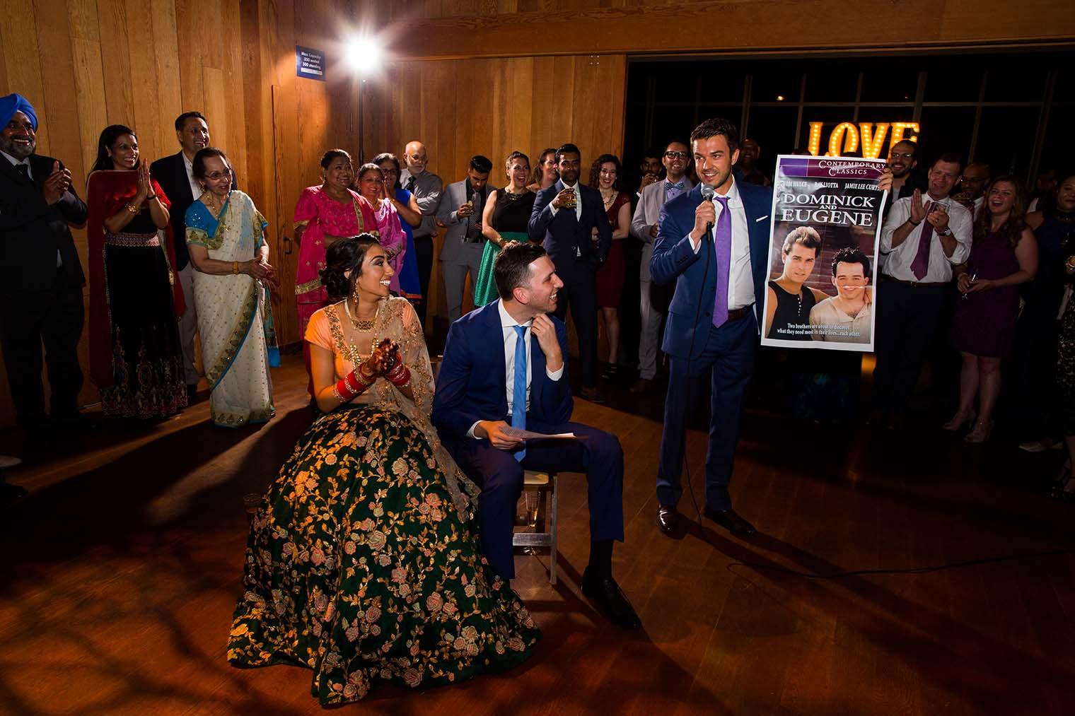 curiodyssey wedding speeches