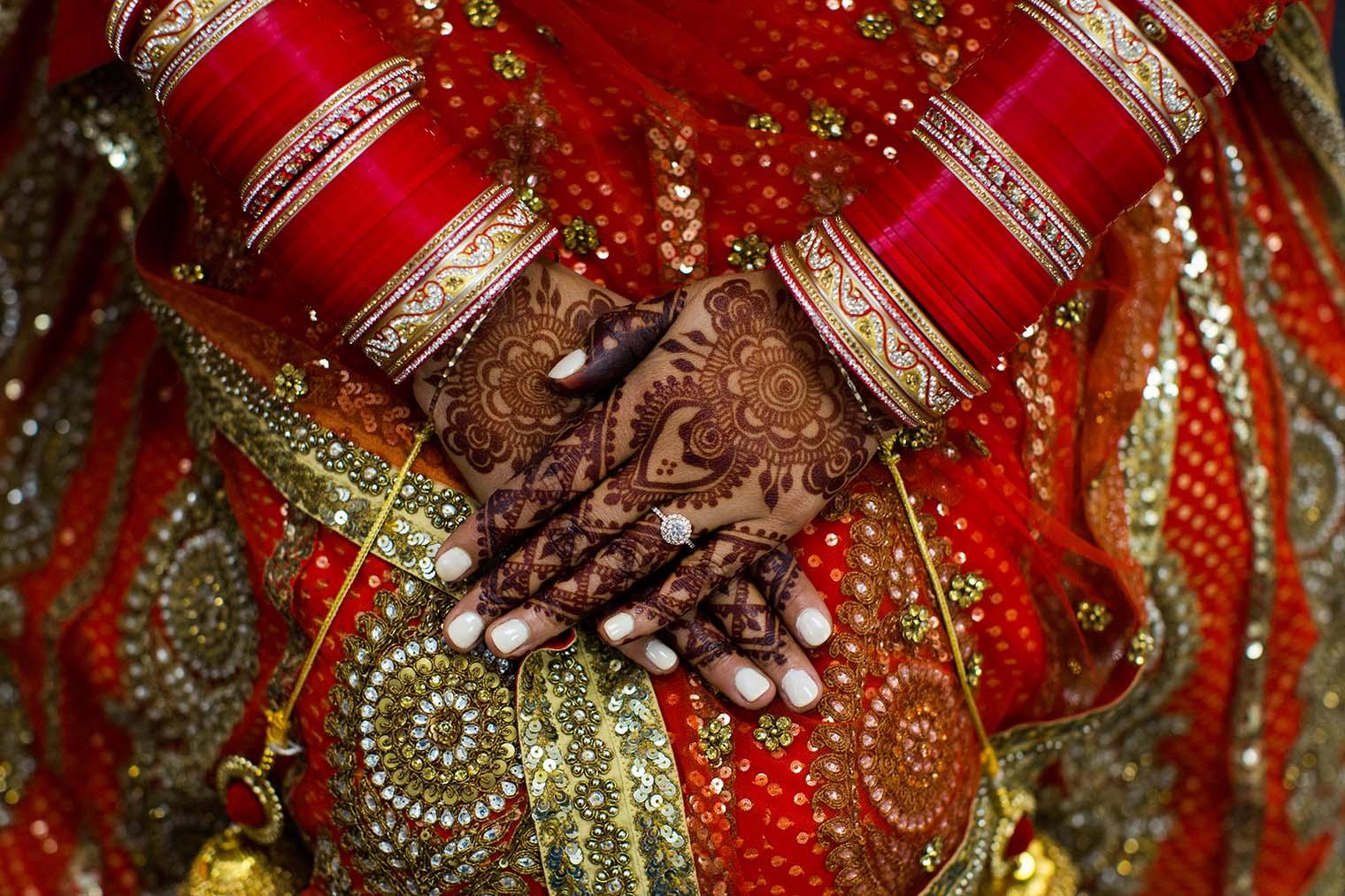 Indian Wedding Details at Gurdwara Sahib of Fremont