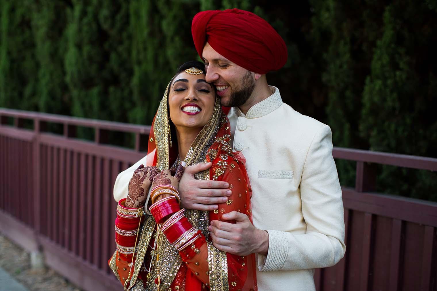 Gurdwara Sahib of Fremont Wedding Portraits