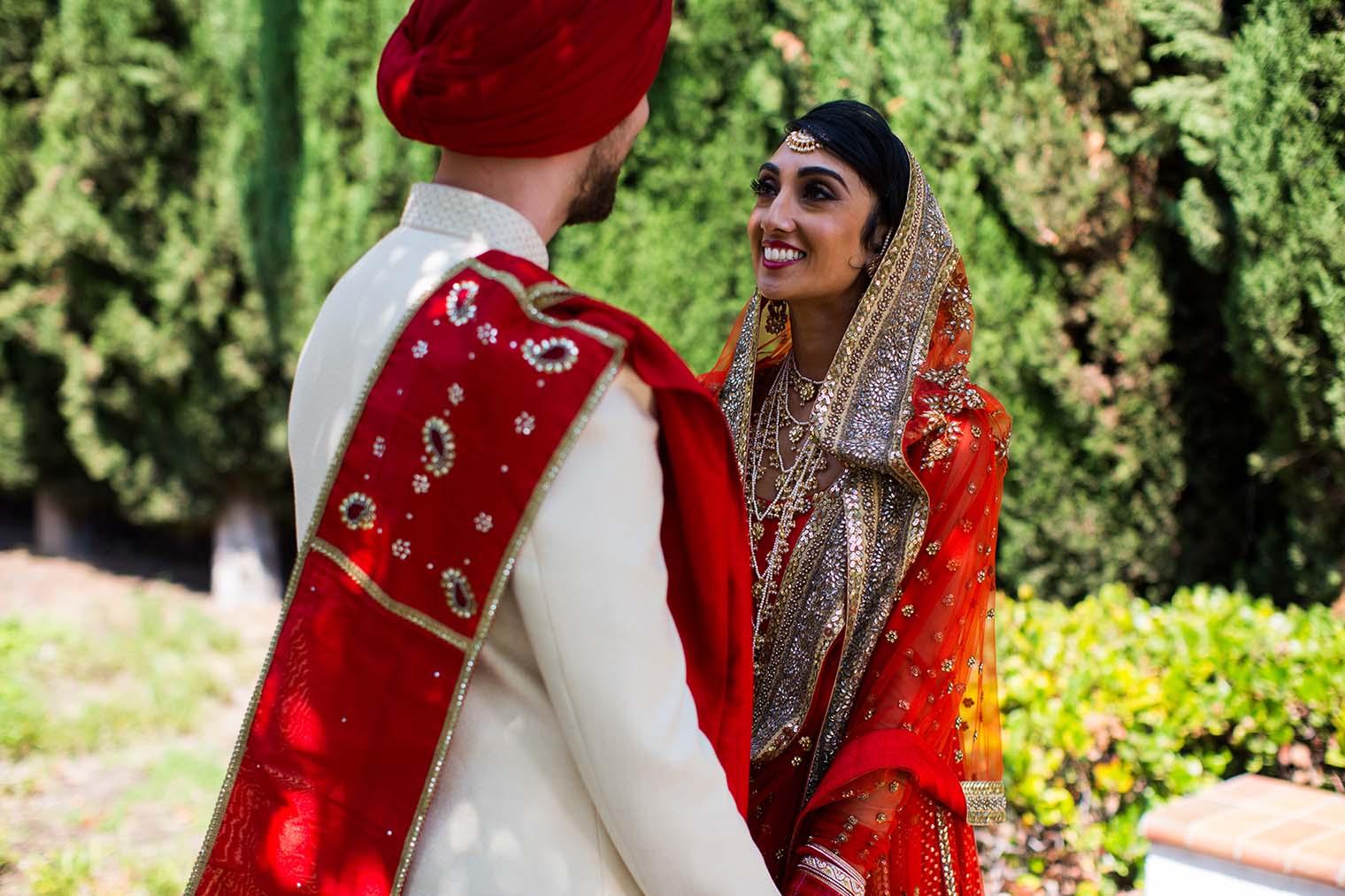 Wedding Photos at Gurdwara Sahib of Fremont