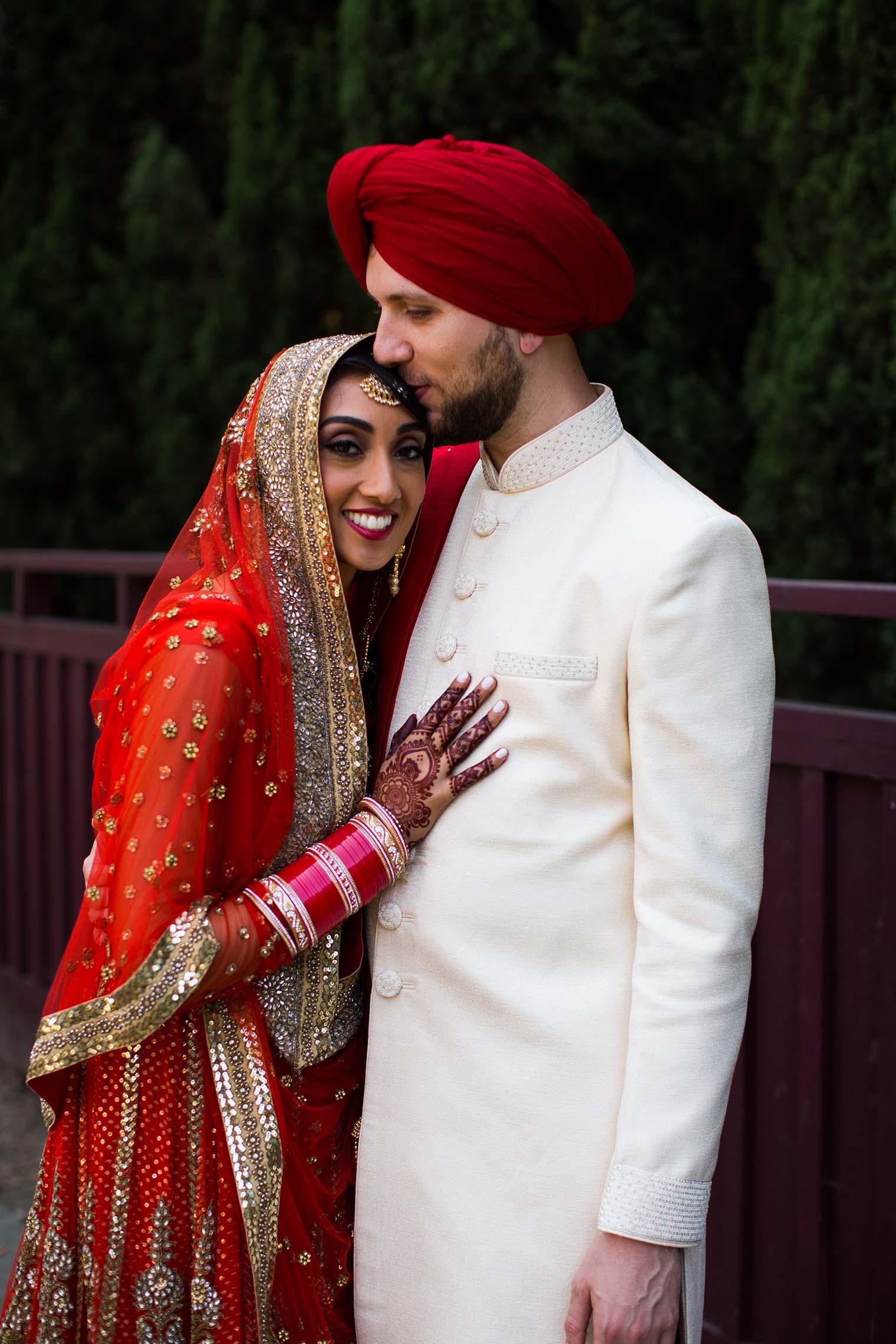 Gurdwara Sahib of Fremont Wedding Photography