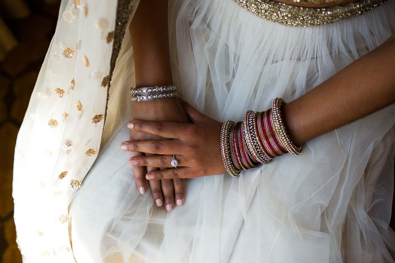 bride's hands at meritage resort and spa