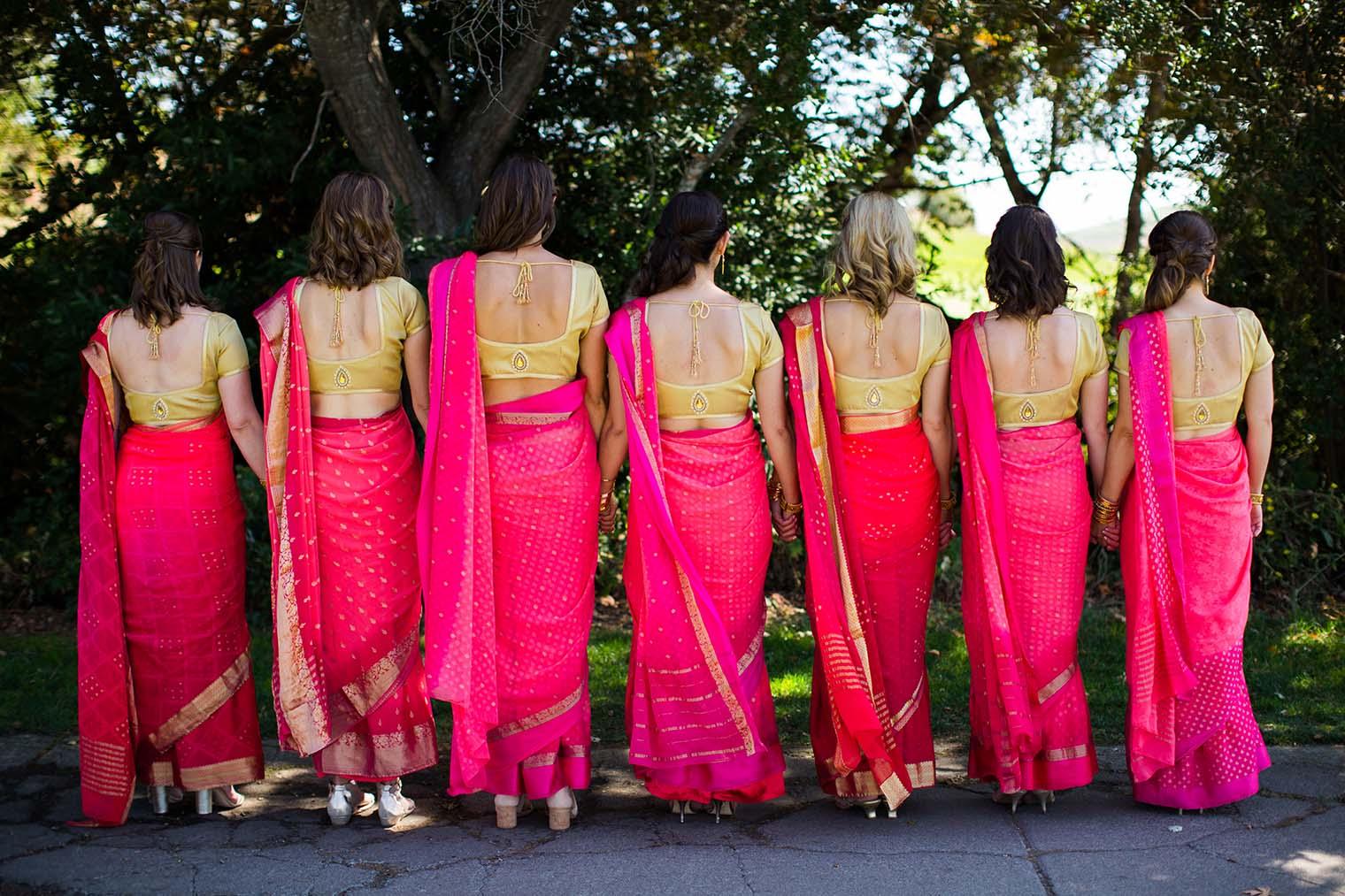 Bridesmaids at Chardonnay Golf Club and Vineyards