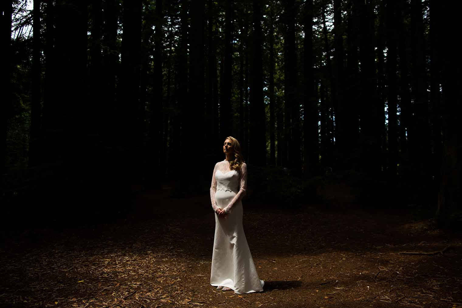 Bride Portrait at Roberts Regional Park