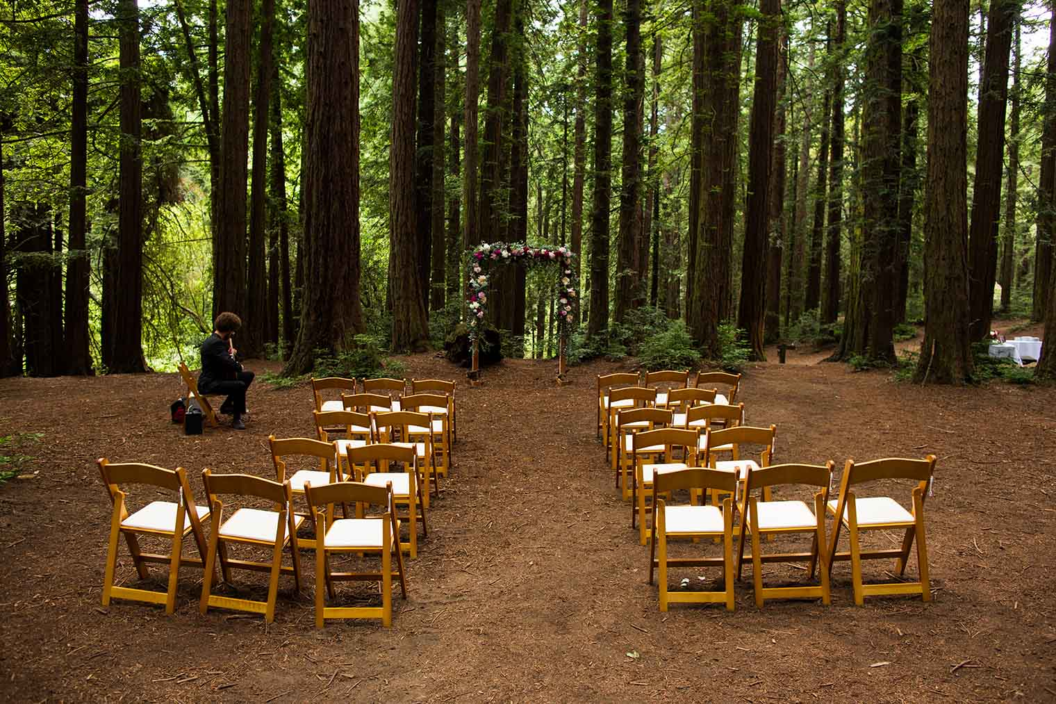 Wedding Ceremony at Roberts Regional Park
