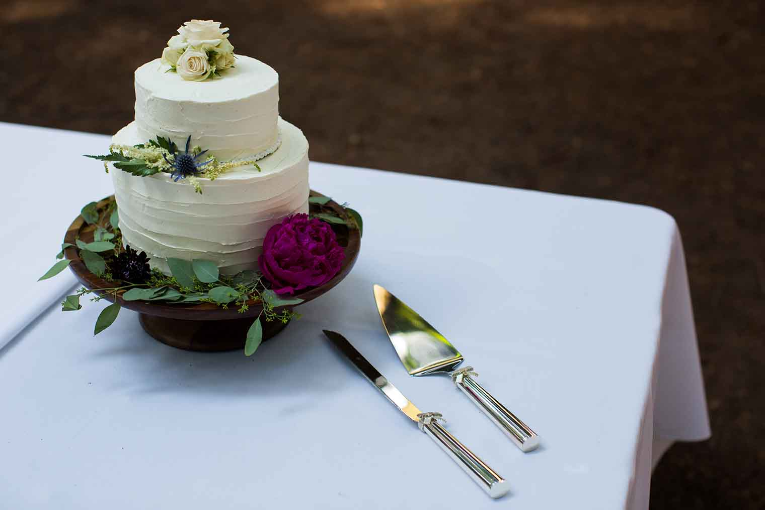 Wedding Cake at Roberts Regional Park