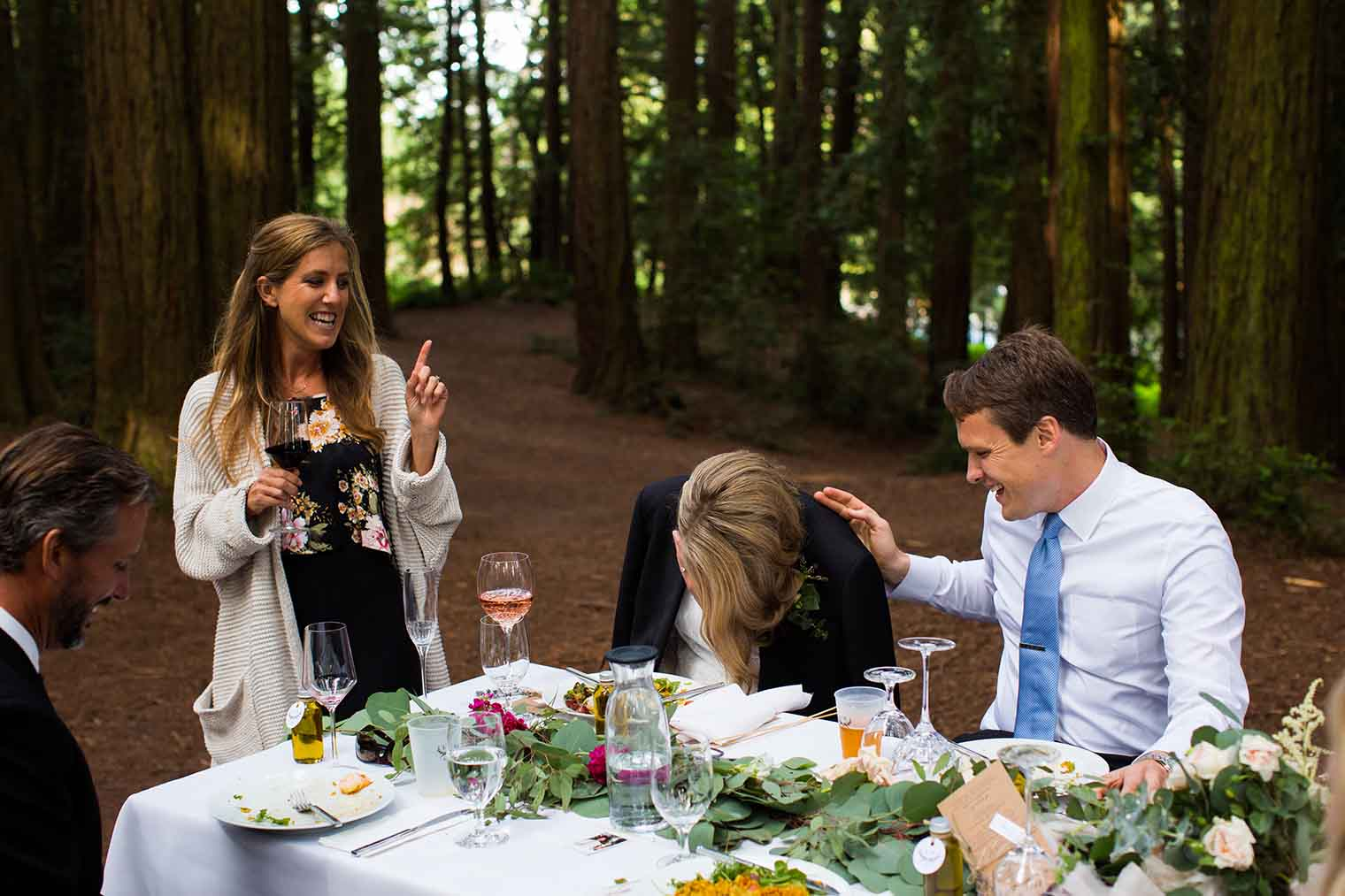 Redwoods Wedding in Oakland California