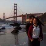 Marshall's Beach Engagement Photos by San Francisco Wedding Photographer