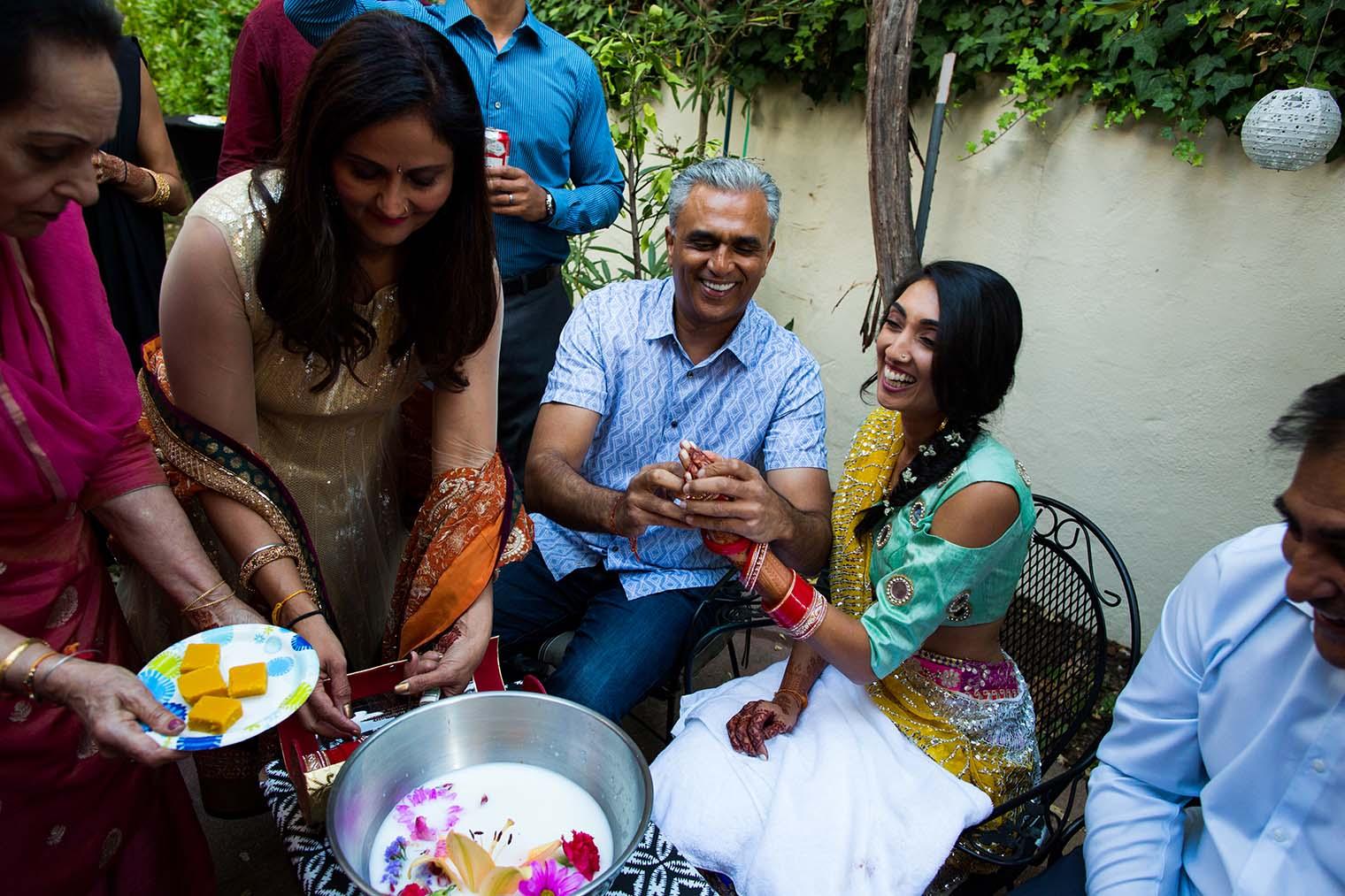 Candid Wedding Moments by San Mateo Wedding Photographer