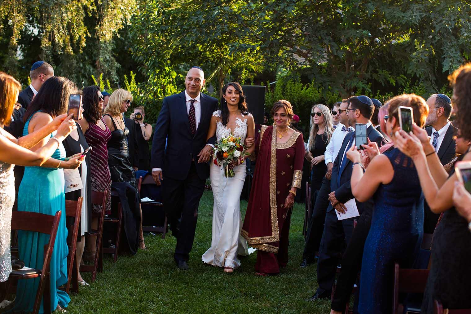 V. Sattui Winery Wedding Ceremony