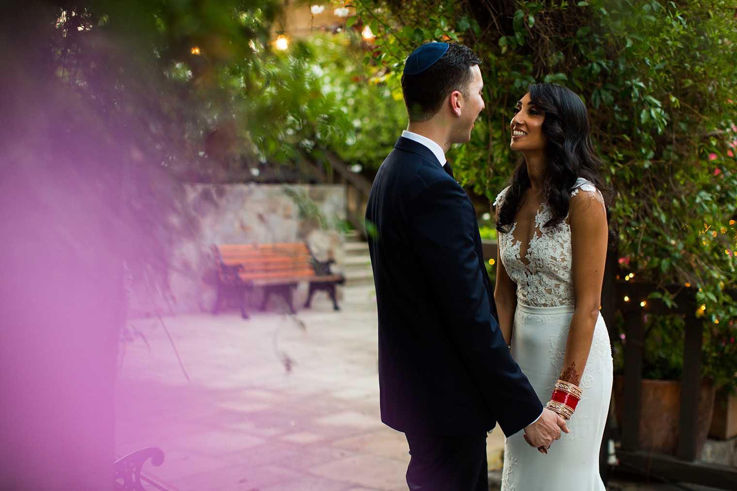 V. Sattui Winery Wedding Couple Photos