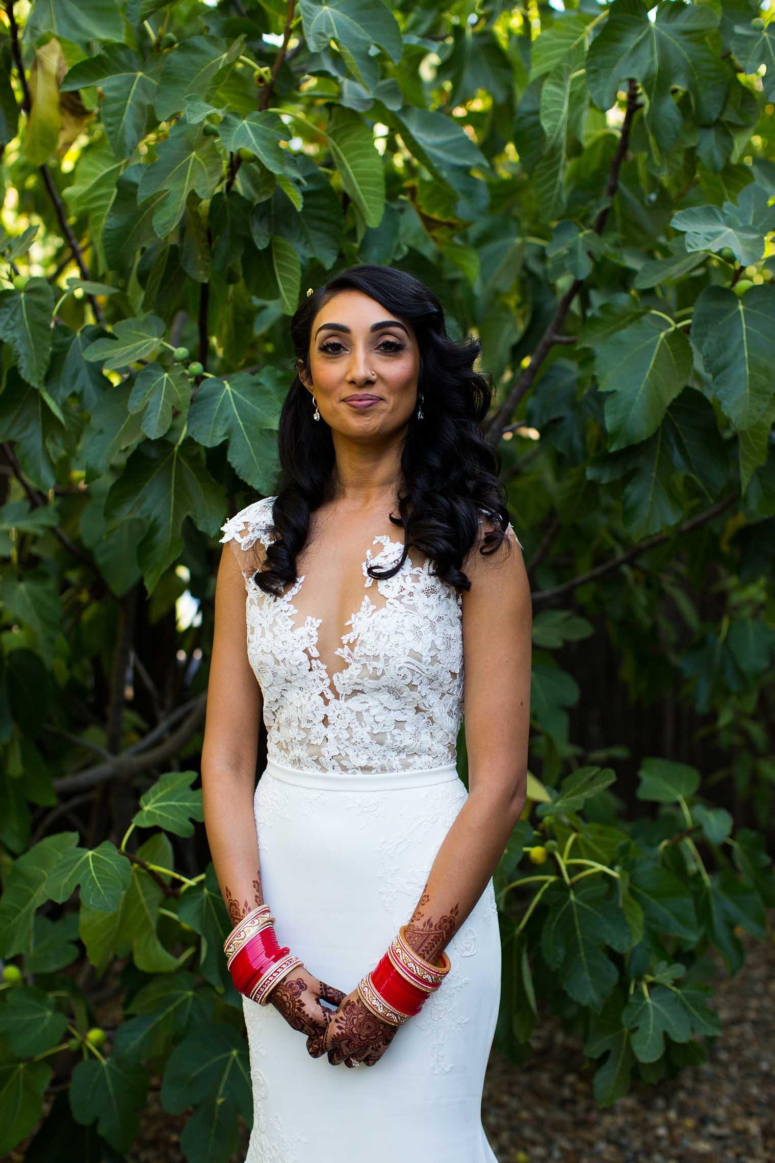 Bride Portrait in Napa California