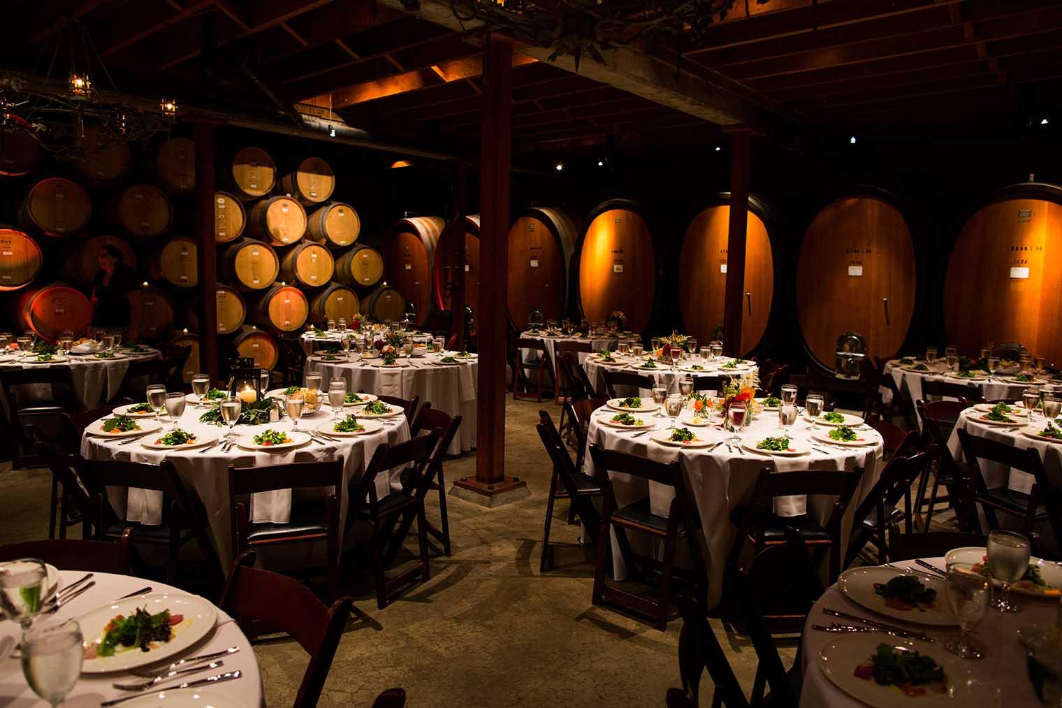 V. Sattui Winery Wedding Reception