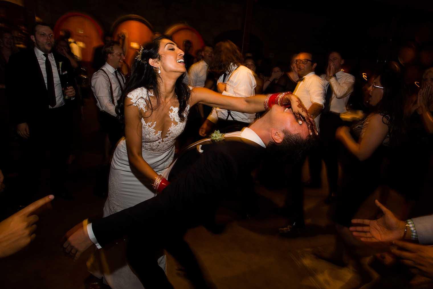 V. Sattui Winery Wedding Reception Photos