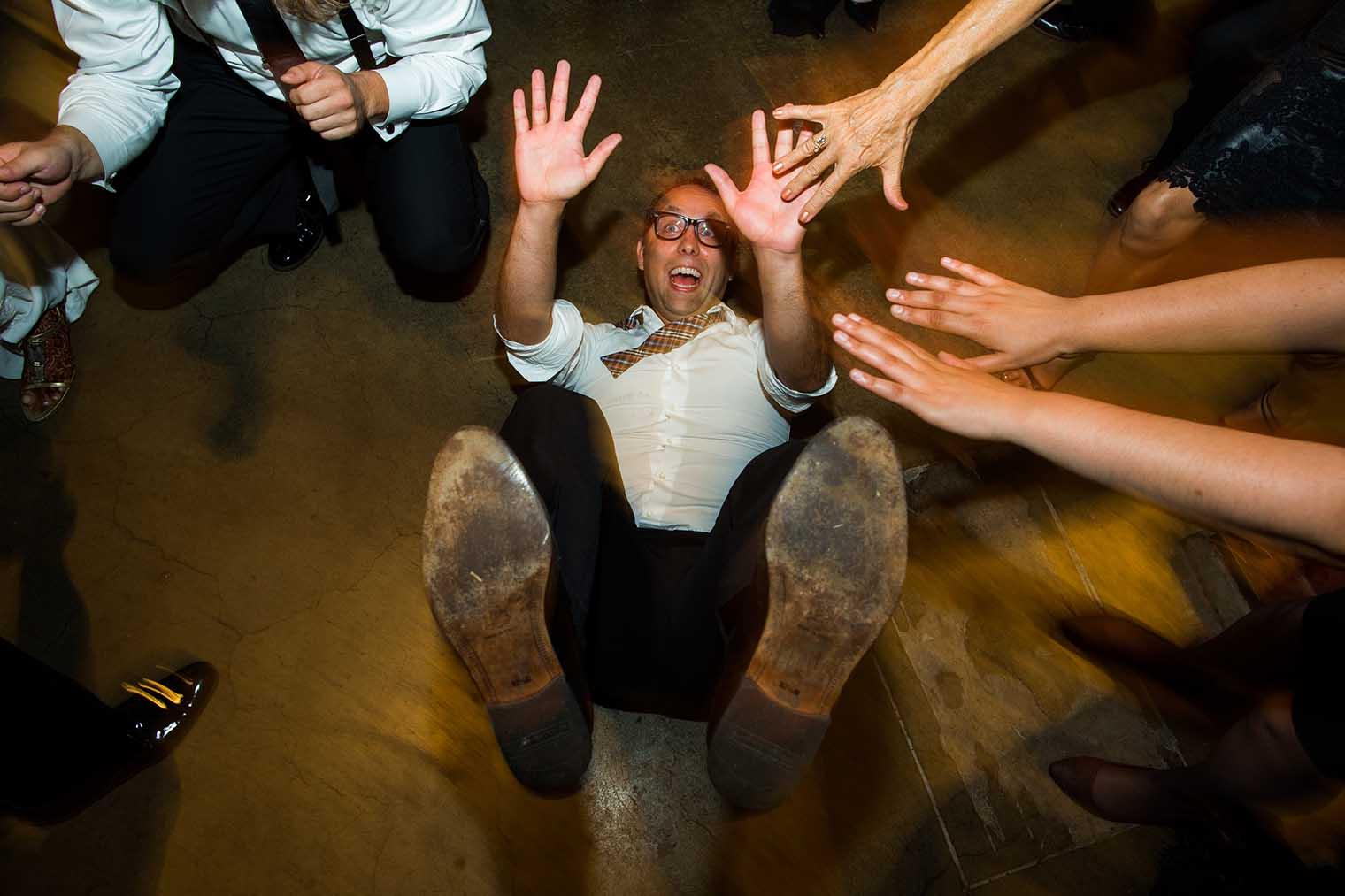 V. Sattui Winery Wedding Dancing Photo