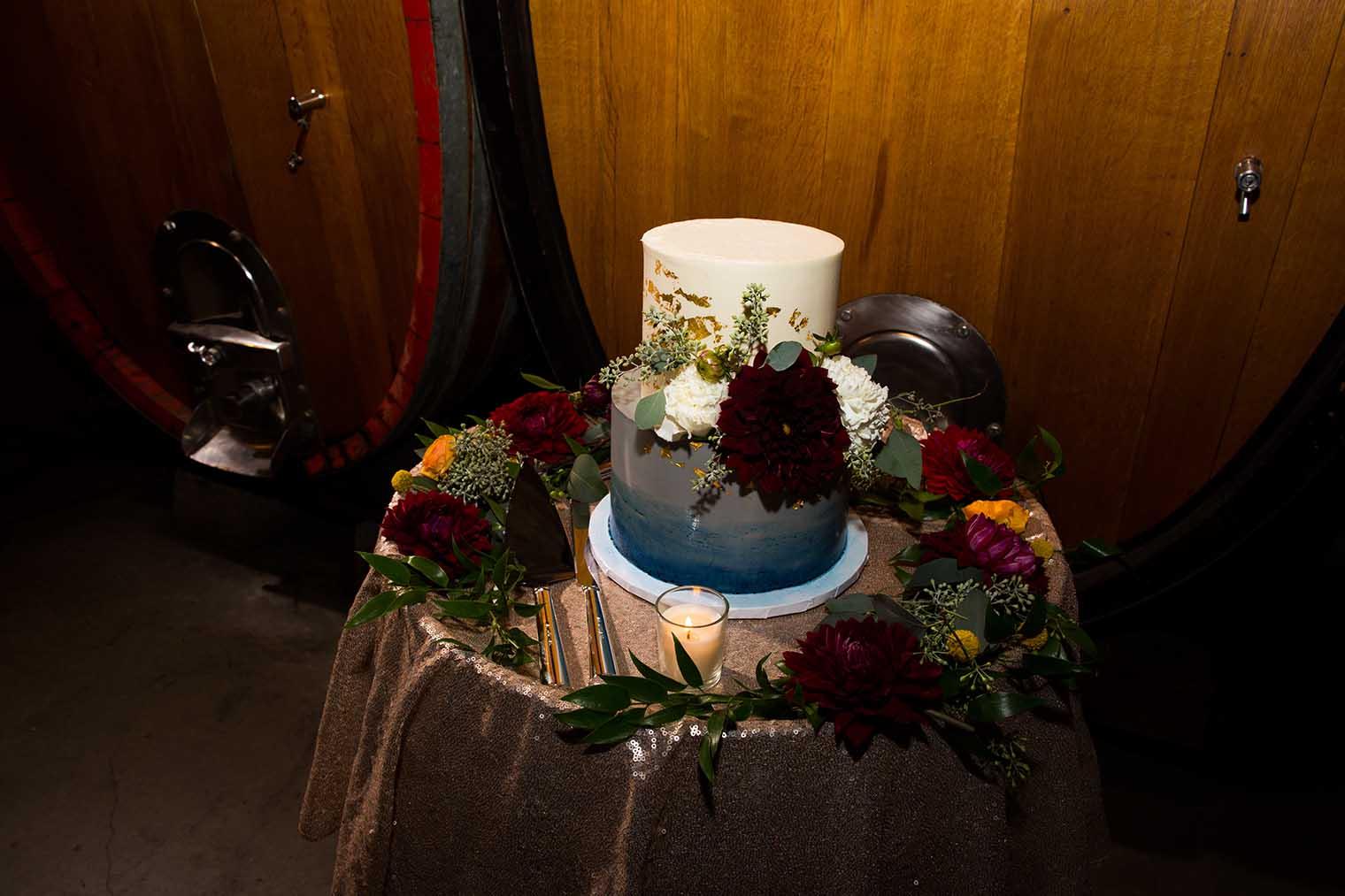 V. Sattui Winery Wedding Cake