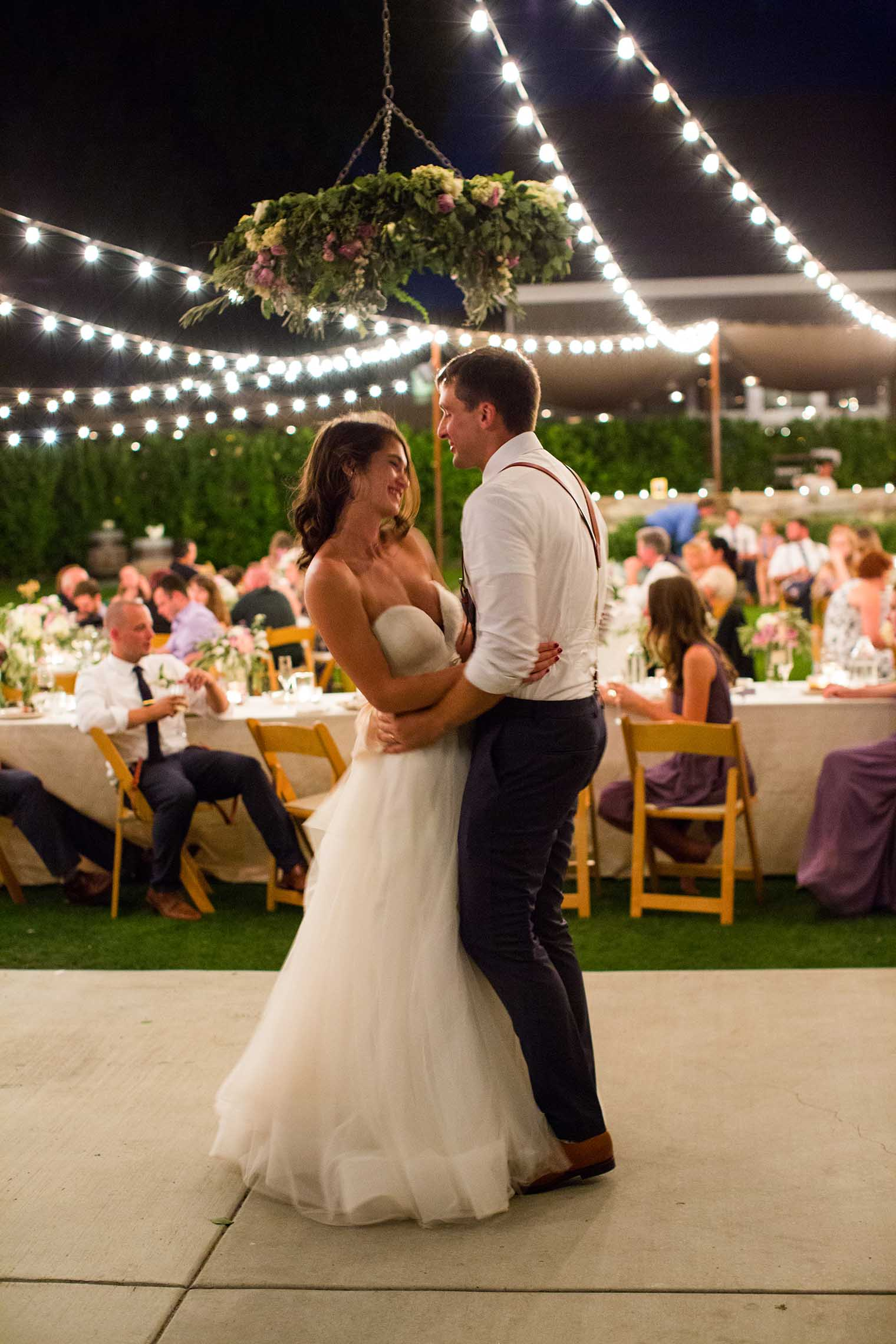 1st Dance at Farmstead at Long Meadow Ranch Wedding
