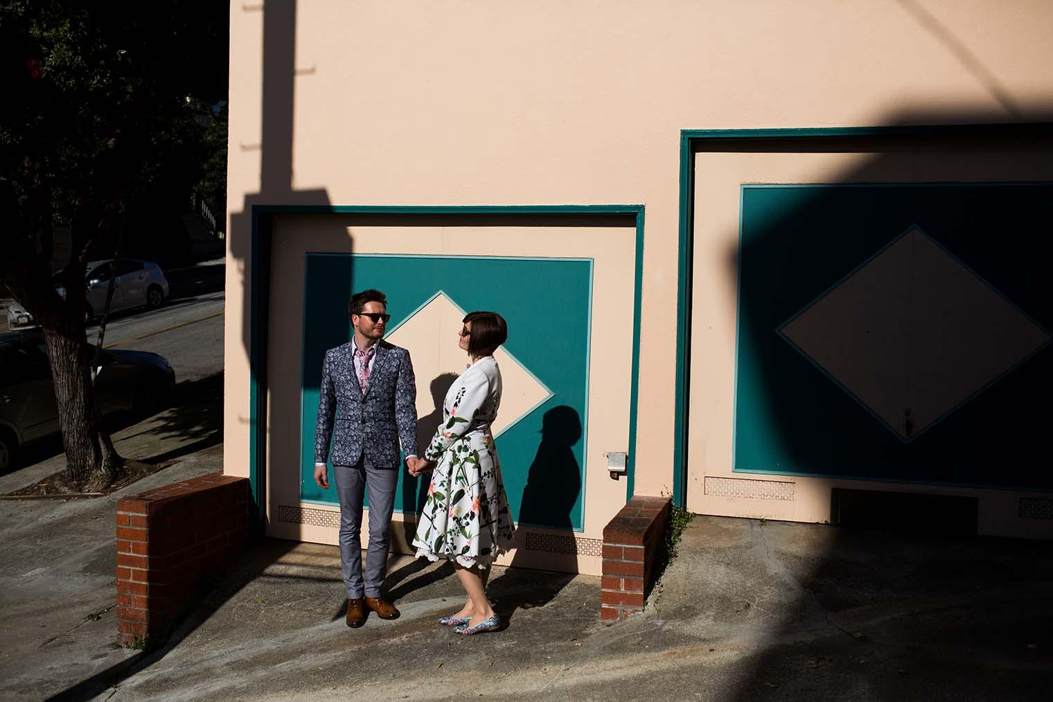 Wedding photos in the Castro
