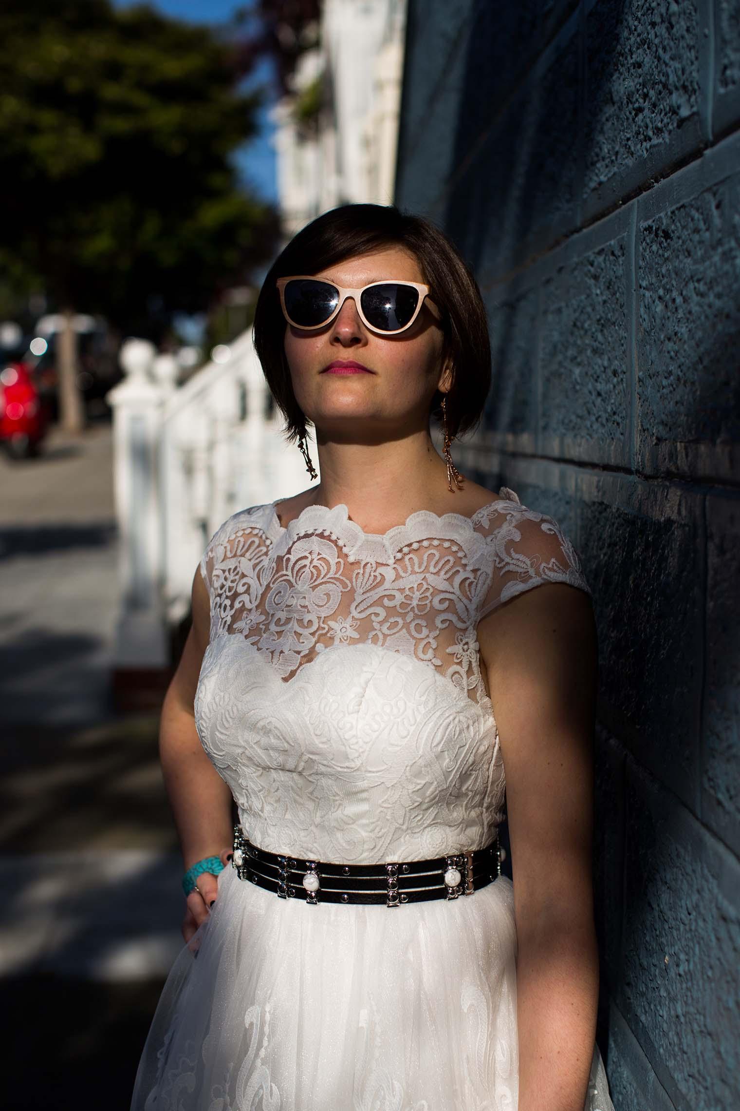 Bride portrait in San Francisco