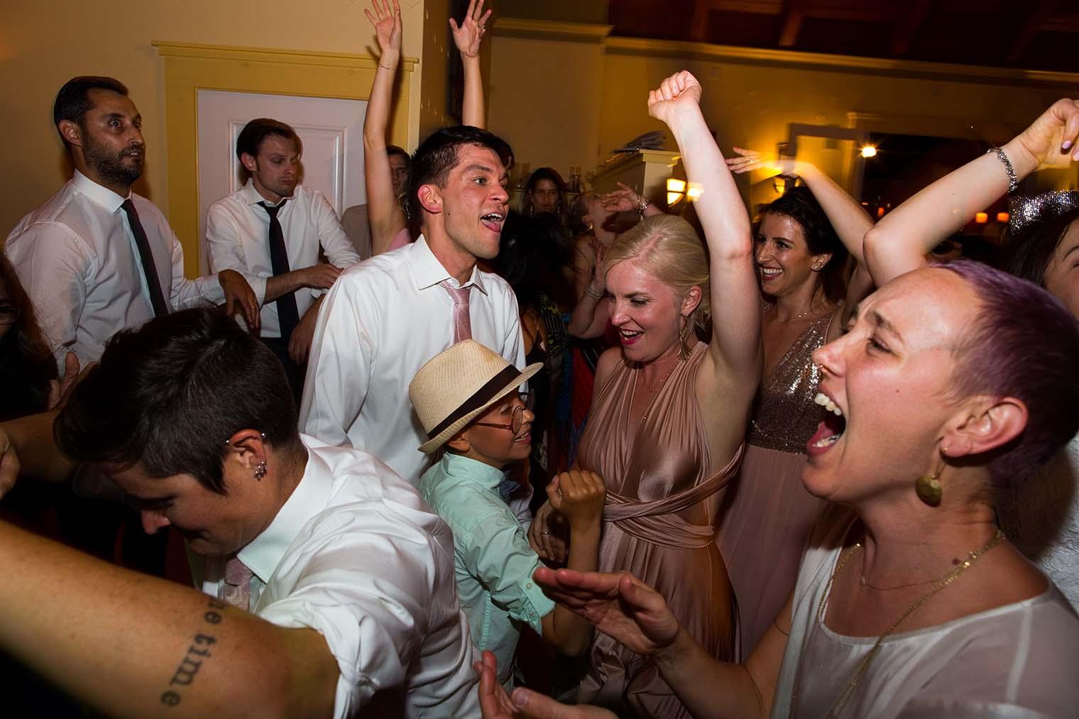 Highland Dell Lodge wedding reception