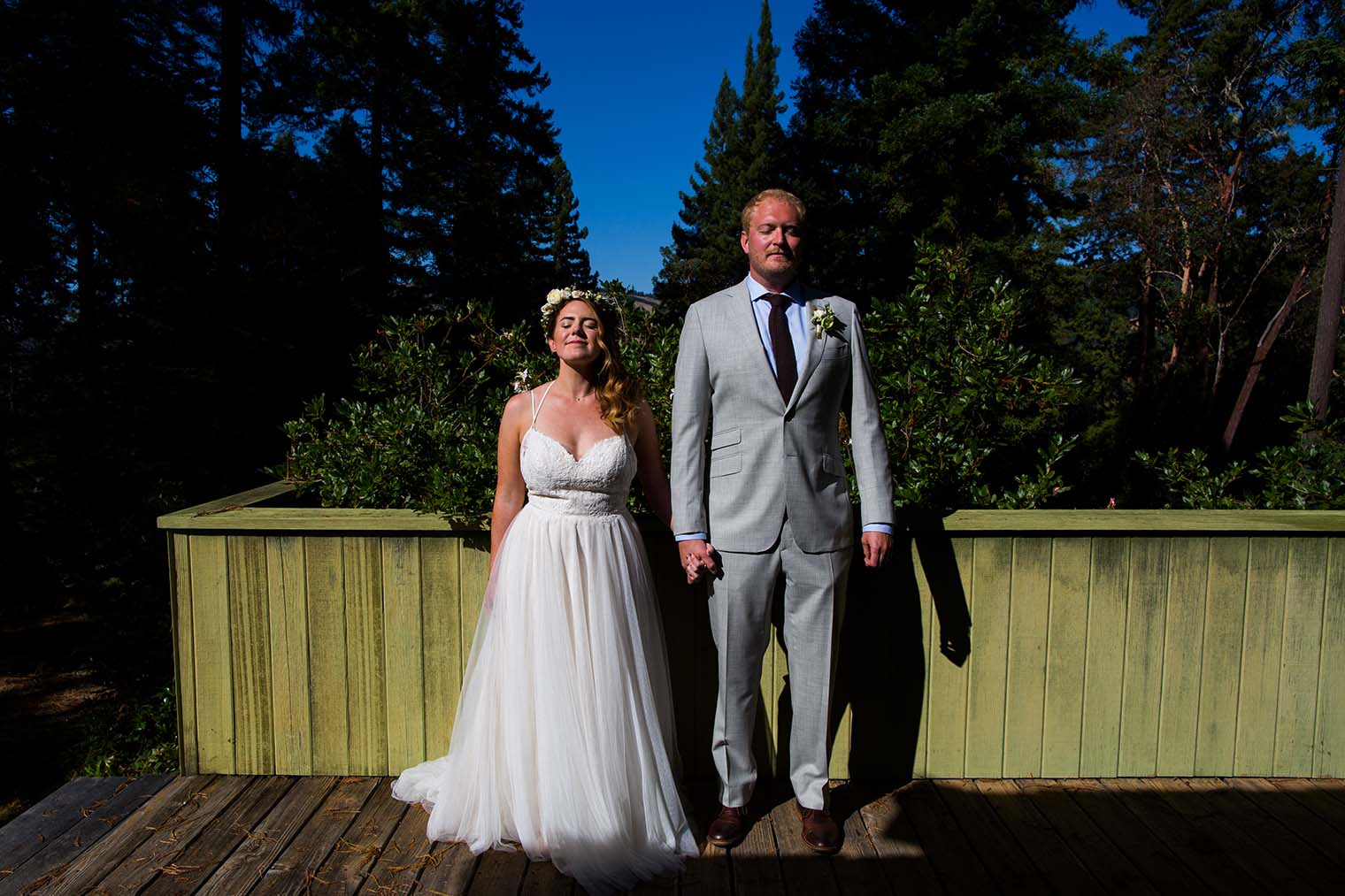 Wedding Portraits at Wild Iris Retreat