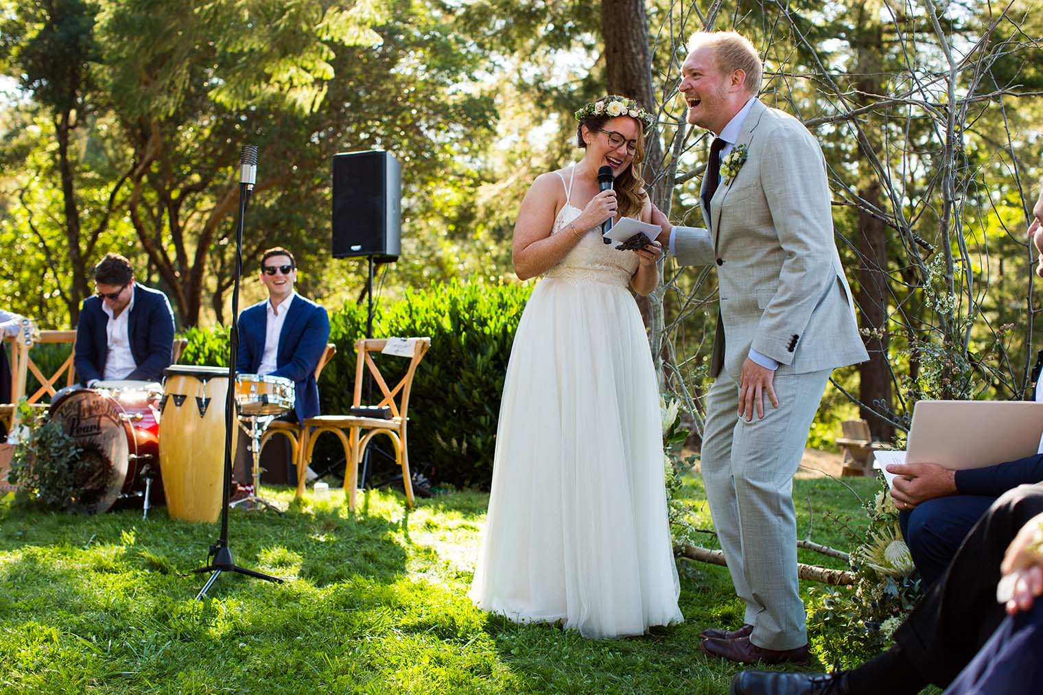 Wild Iris Retreat Wedding Ceremony