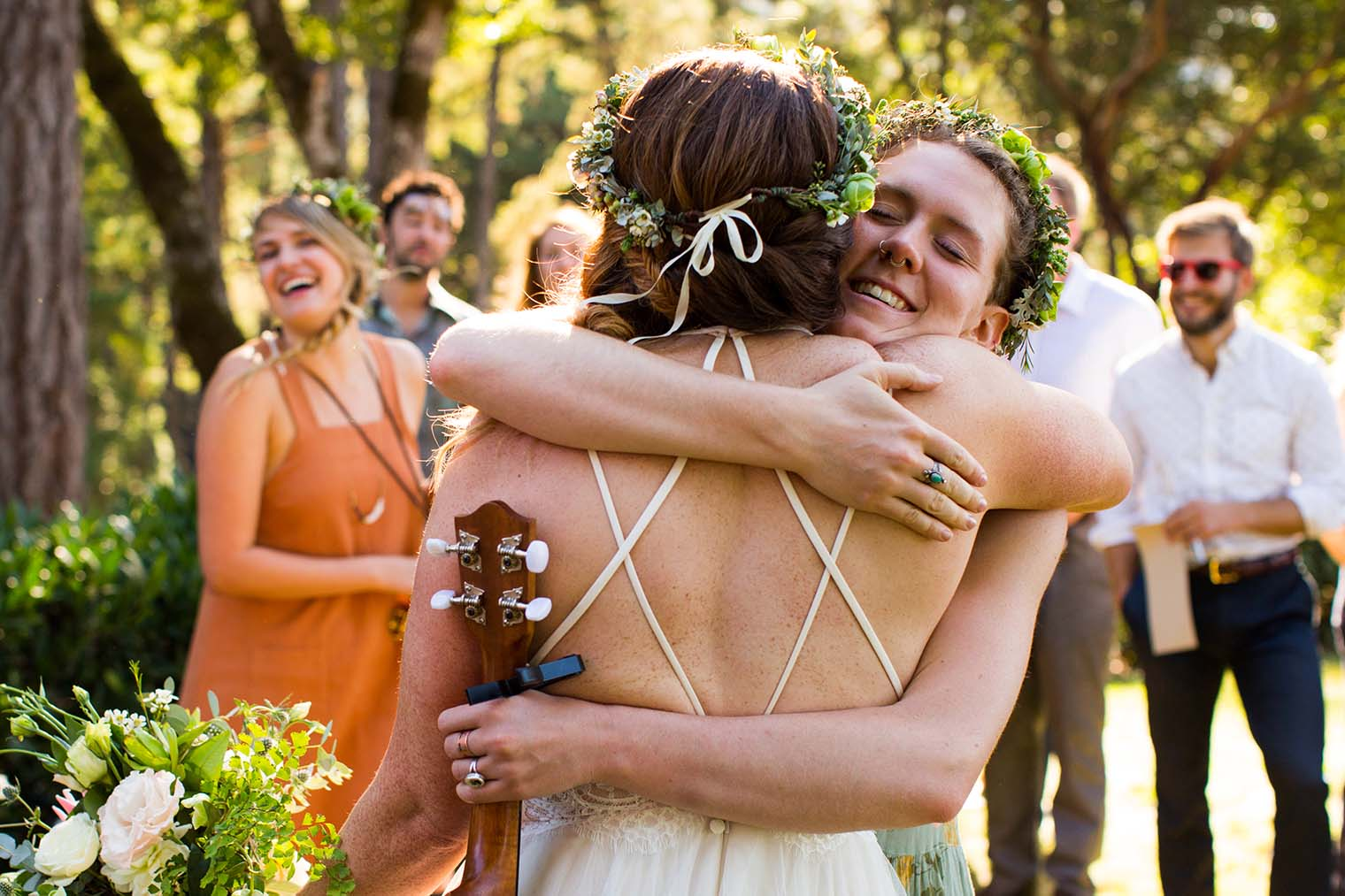 Candid Wedding Moments at Wild Iris Retreat